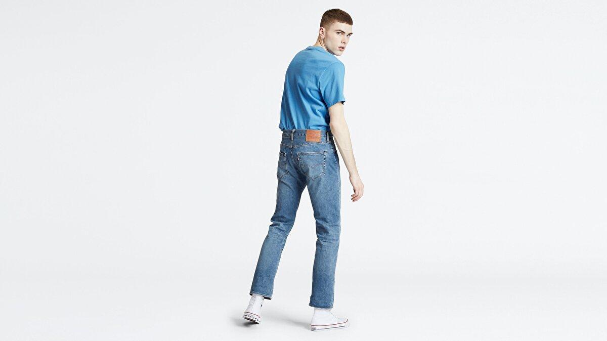 Levi's® 501 Original Fit Ironwood Overt Erkek Jean Pantolon Açık Mavi