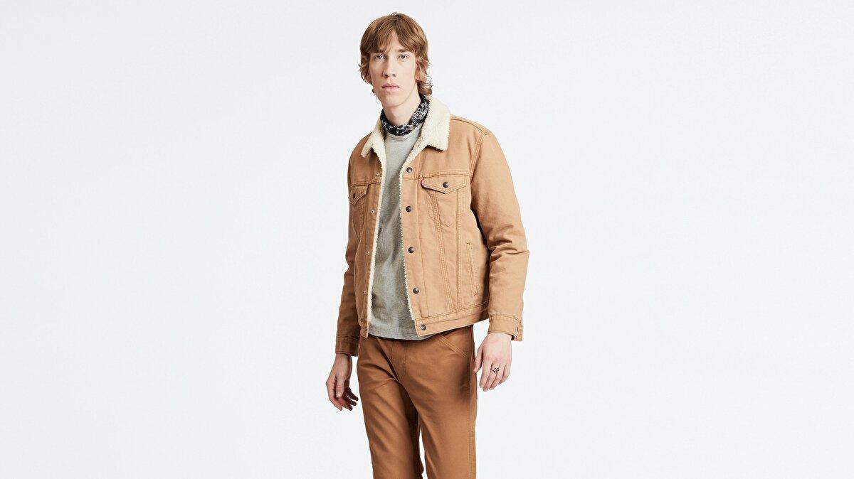 Levi's® Sherpa Trucker Erkek Jean Ceket