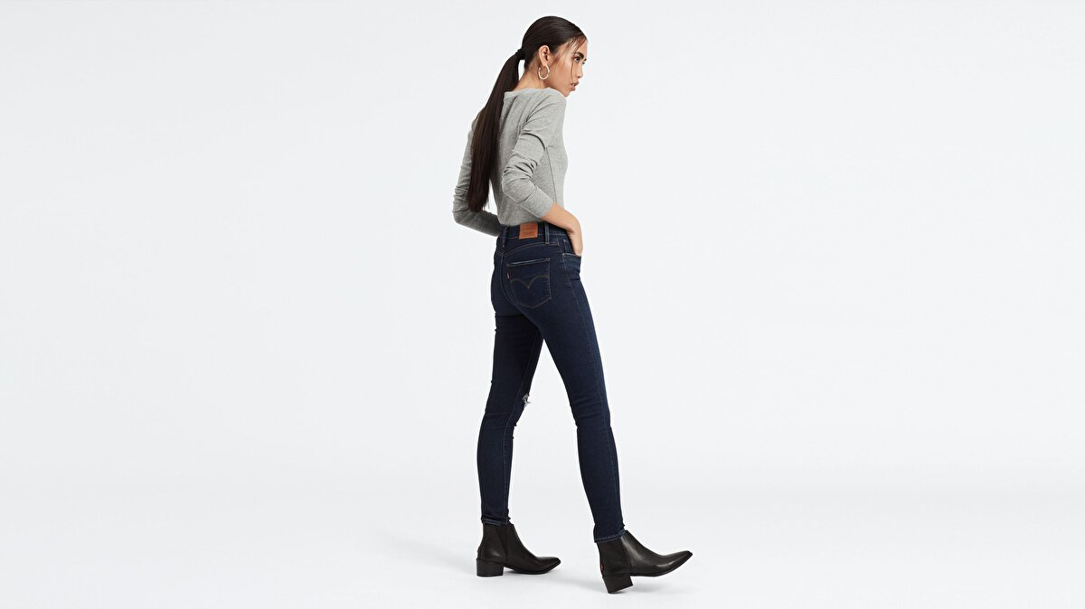 Levi's® 721 High Rise Skinny London Haze Kadın Jean Pantolon Mavi