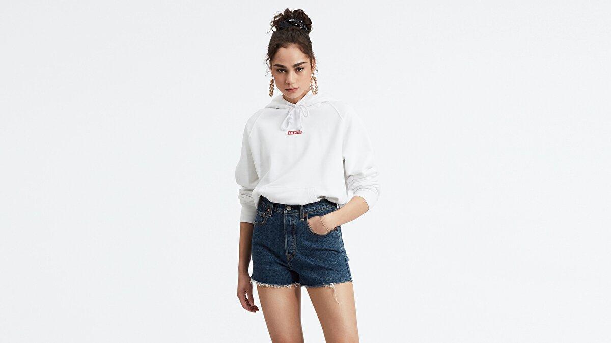Levi's® Graphic Sport Kadın Kapüşonlu Sweatshirt