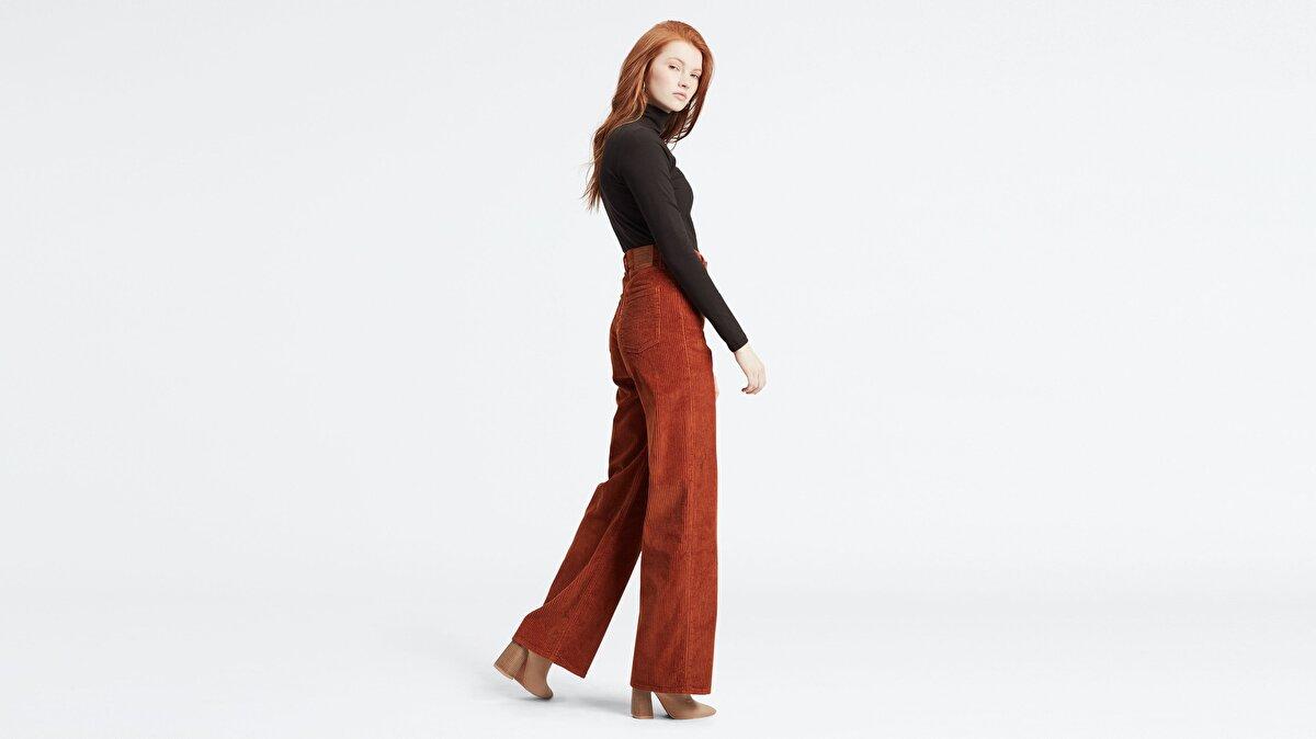 Levi's® Ribcage Wide Leg Kadın Kadife Pantolon