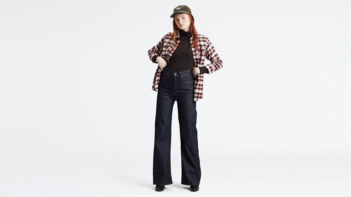 Levi's® Ribcage Wide Leg Kadın Jean Pantolon