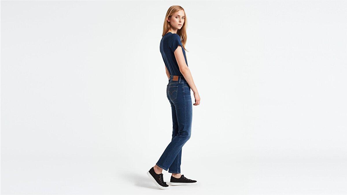 Levi's® 712 Slim Read Between The Lines Kadın Jean Pantolon Mavi