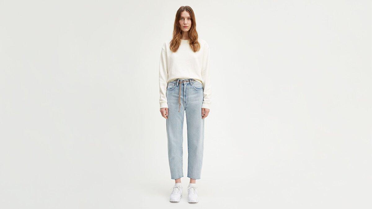 Levi's® LMC Barrel LMC Crisp Sky Kadın Jean Pantolon Açık Mavi