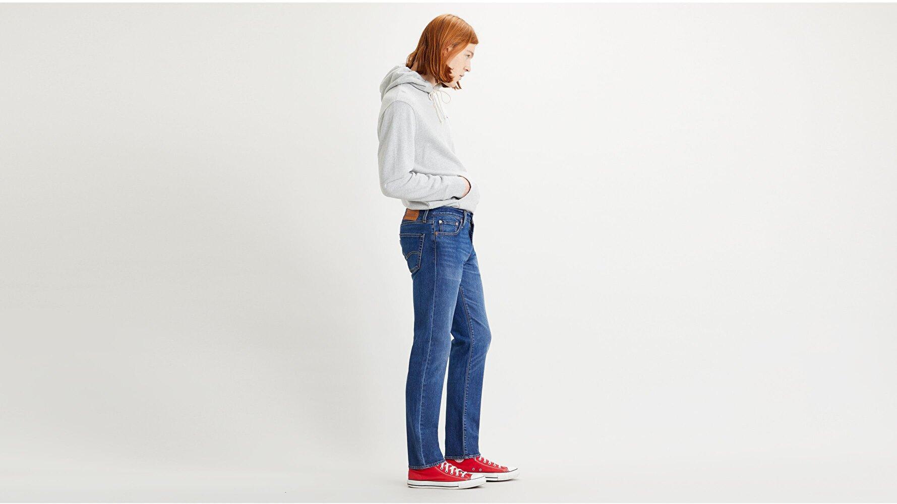 511™ Slim Erkek Jean Pantolon-Poncho