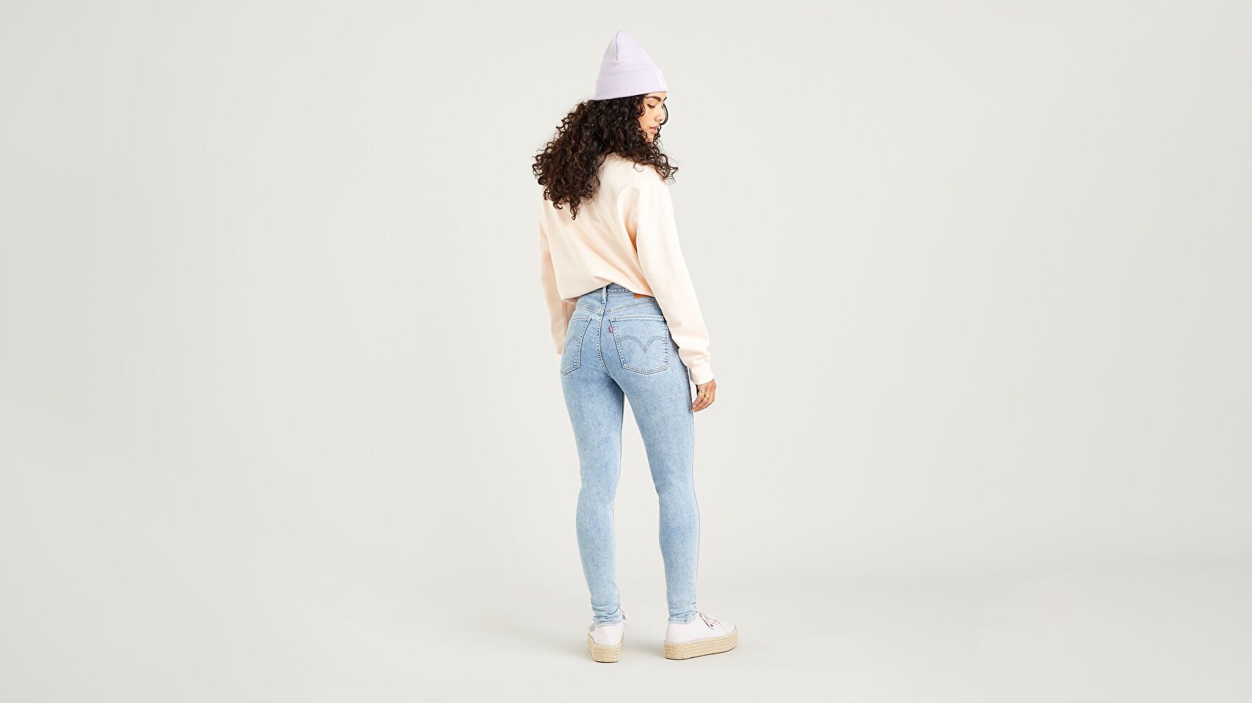 Mile High Super Skinny Kadın Jean Pantolon-Spill The Tea