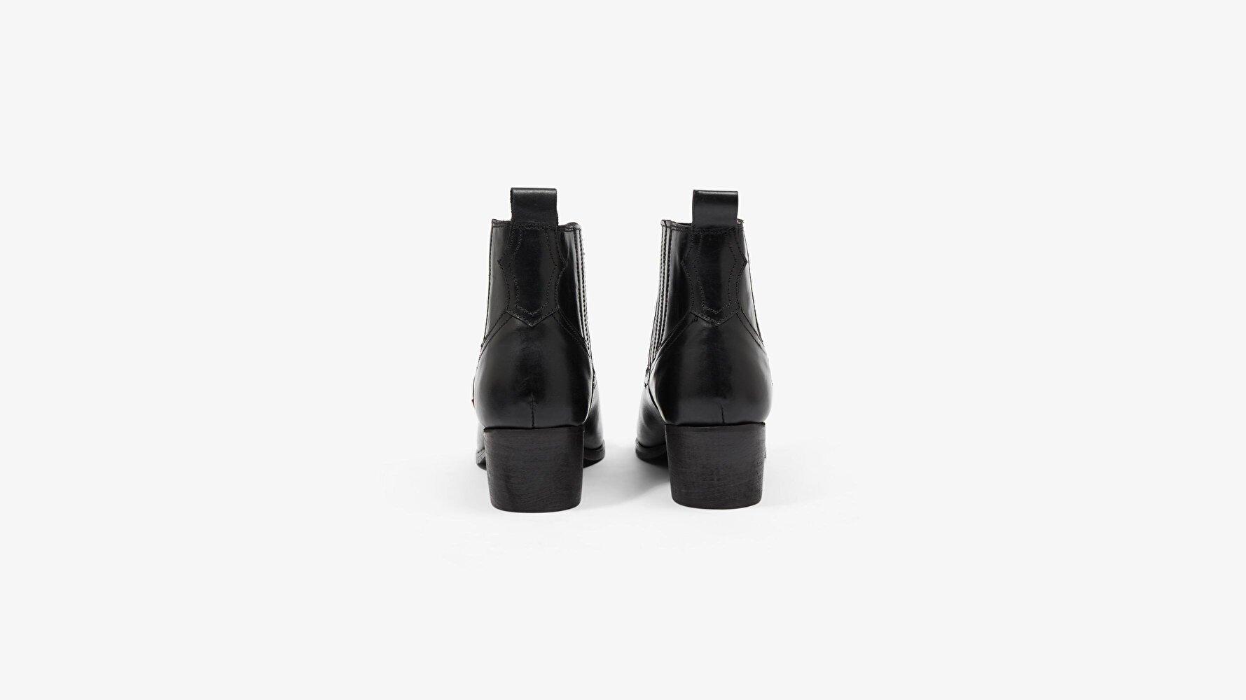 Western Folsom Kadın Deri Çizme