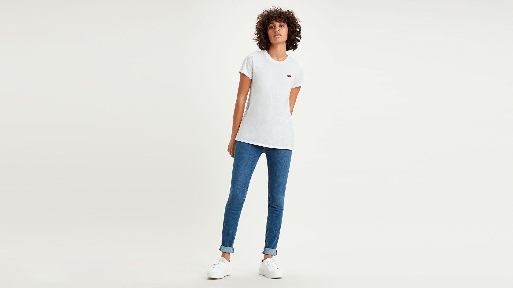 711 Skinny Fit Kadın Jean Pantolon-Bogota Way
