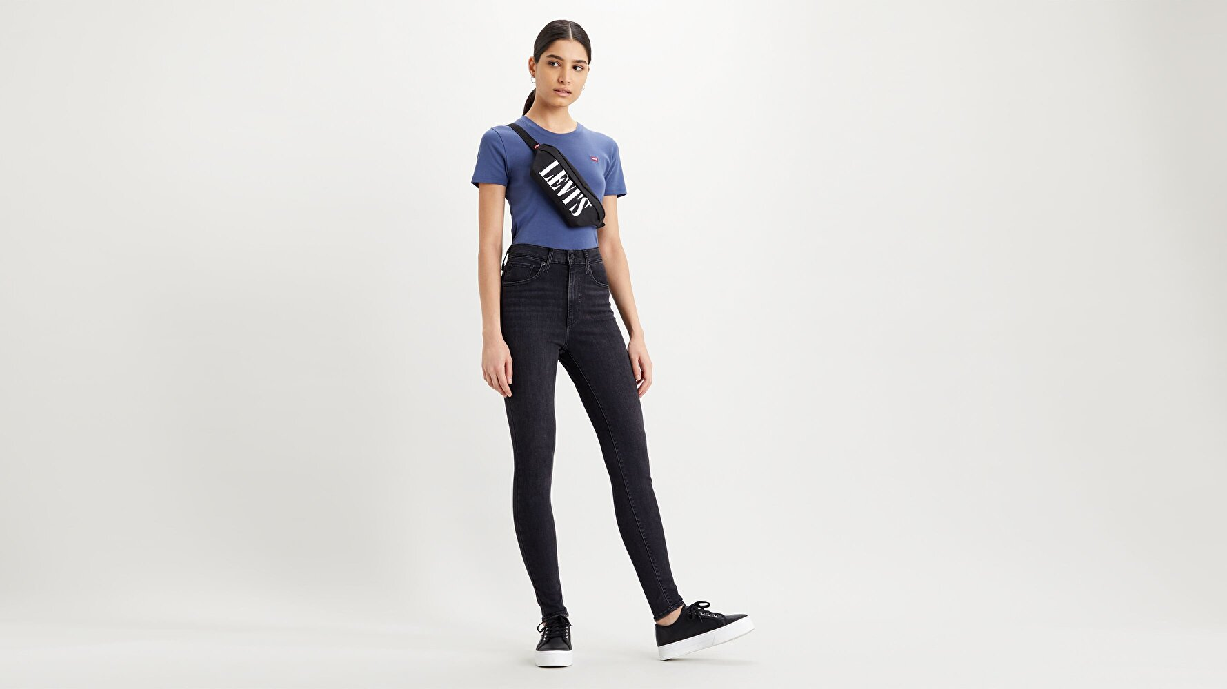 Mile High Super Skinny Kadın Jean Pantolon- Haze