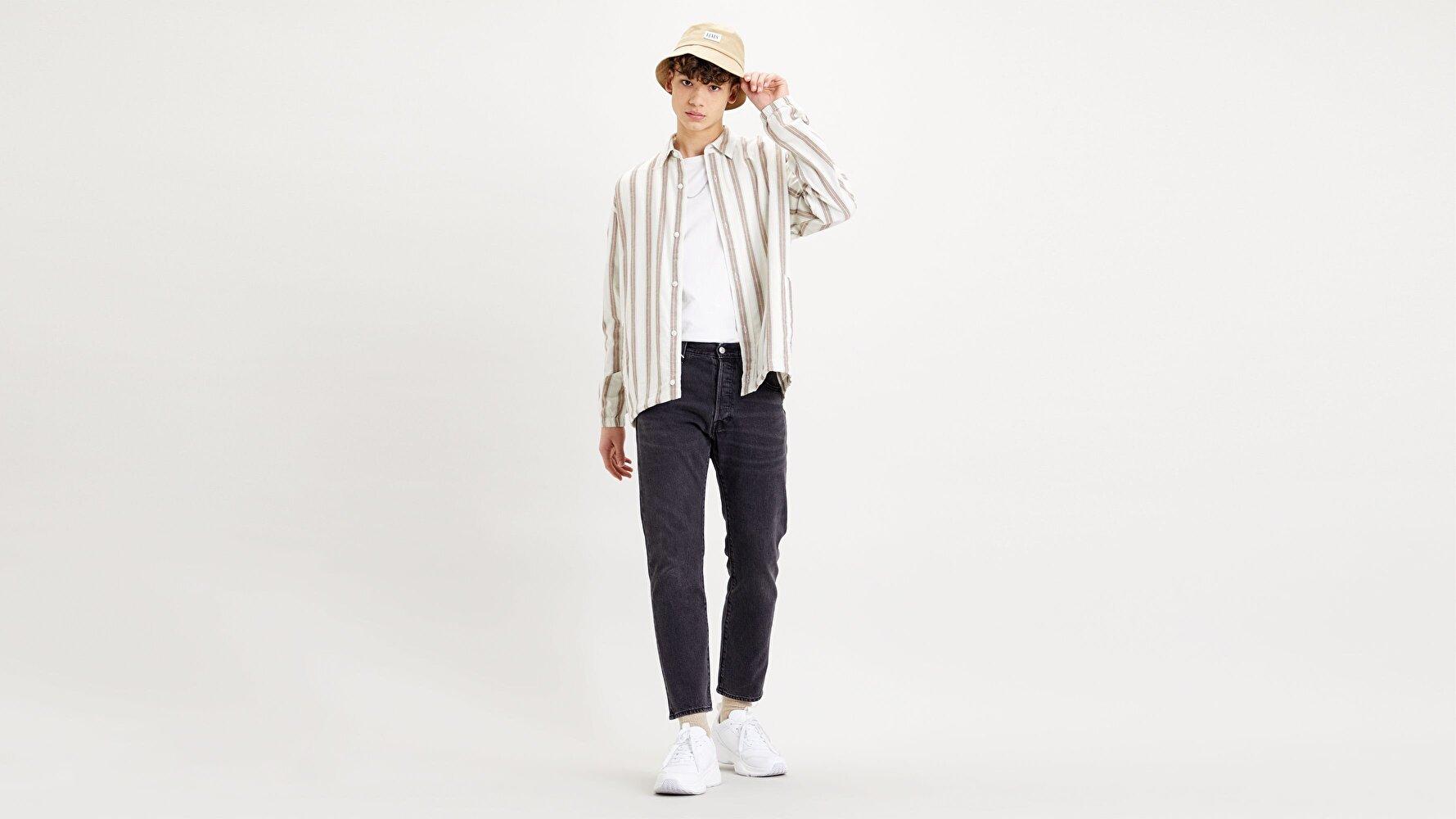 501® '93 Cropped Erkek Jean Pantolon-Up Close