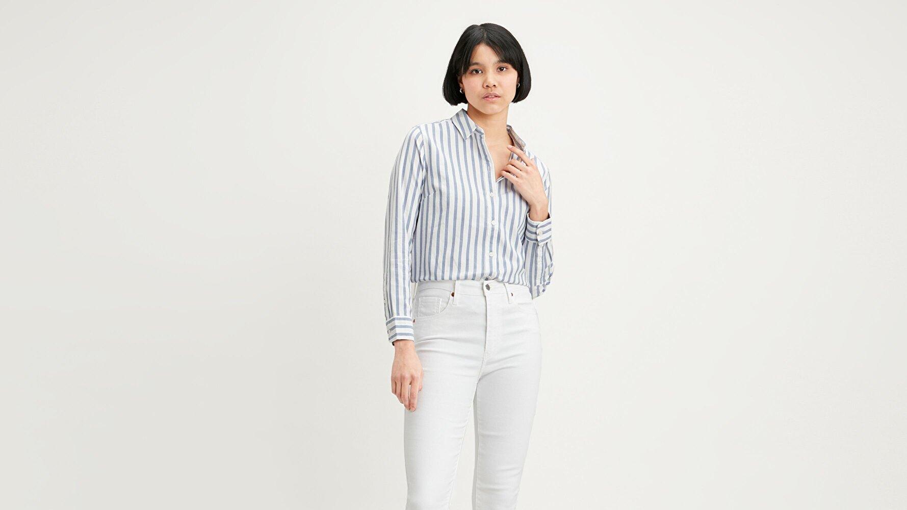The Classic Bw Shirt Rubellite Colony Çok renkli Kadın Gömlek