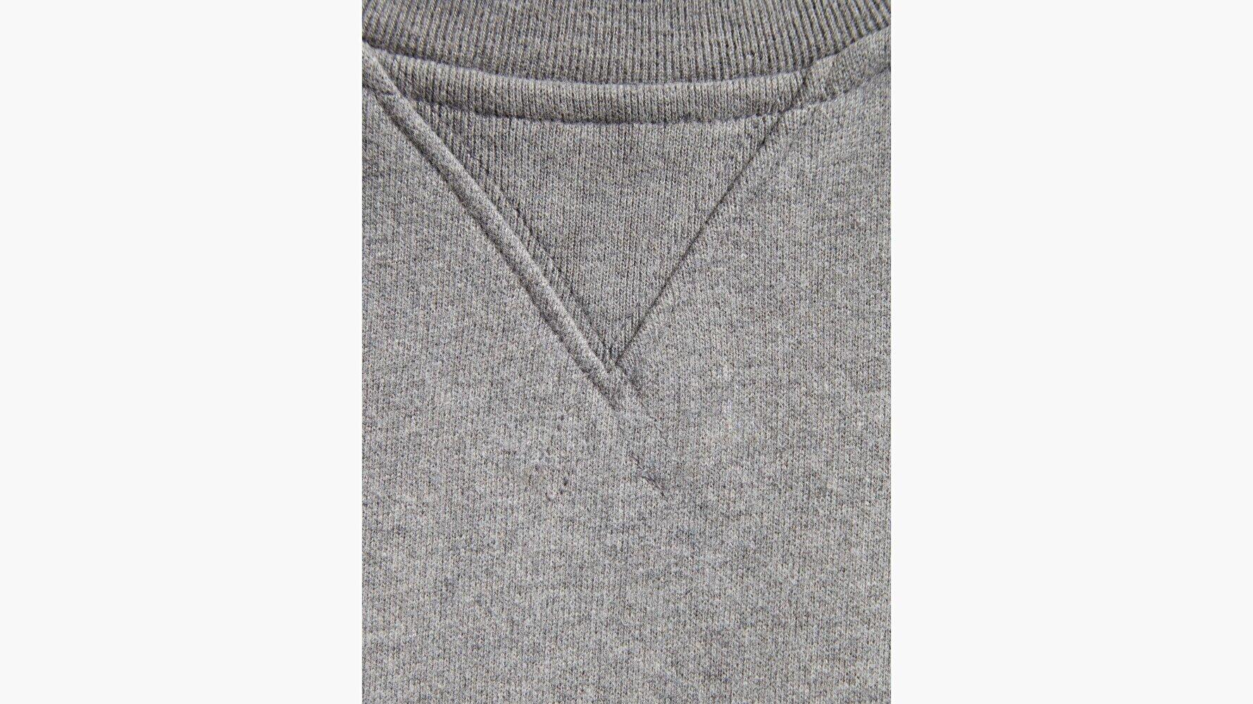 New Original Crew Tr Gri Erkek Sweatshirt