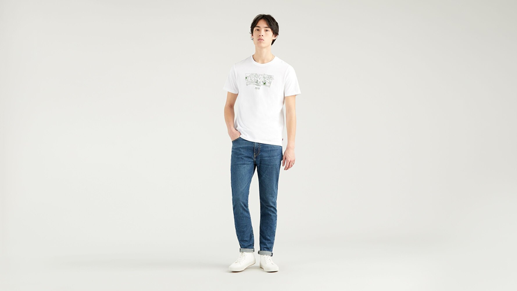 Housemark Graphic Erkek Beyaz Tişört