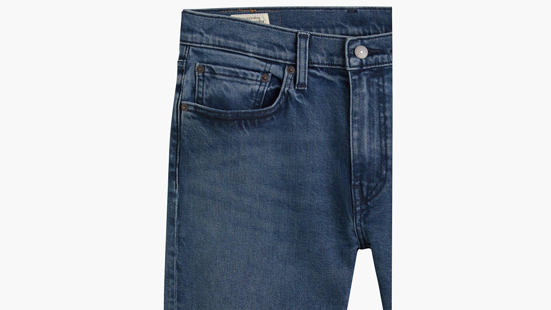 512™ Slim Taper Erkek Jean Pantolon - Clean Hands - Dark Indigo