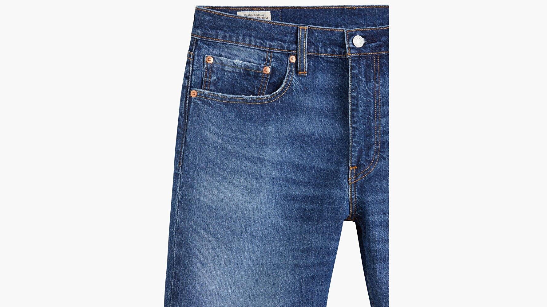 502™ Taper Erkek Jean Pantolon - Squeezy Junction - Medium Indigo