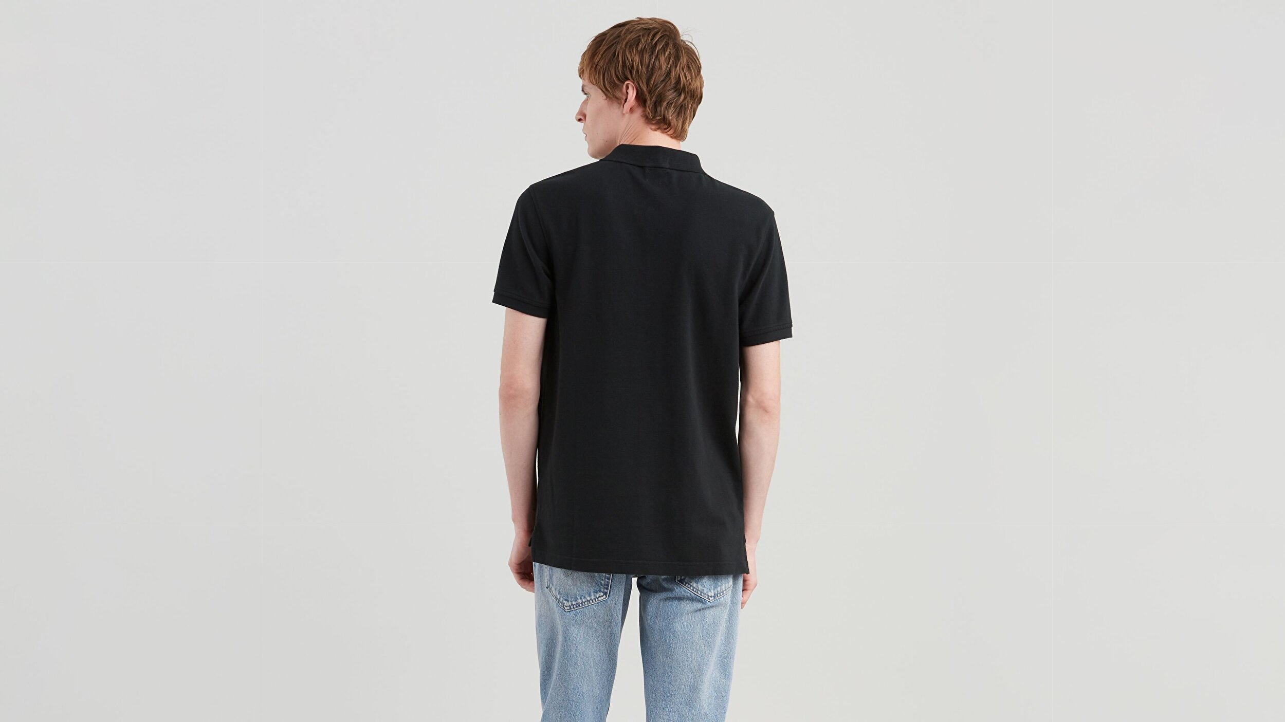 Standard Hm Good Polo Tr Siyah Erkek Tişört