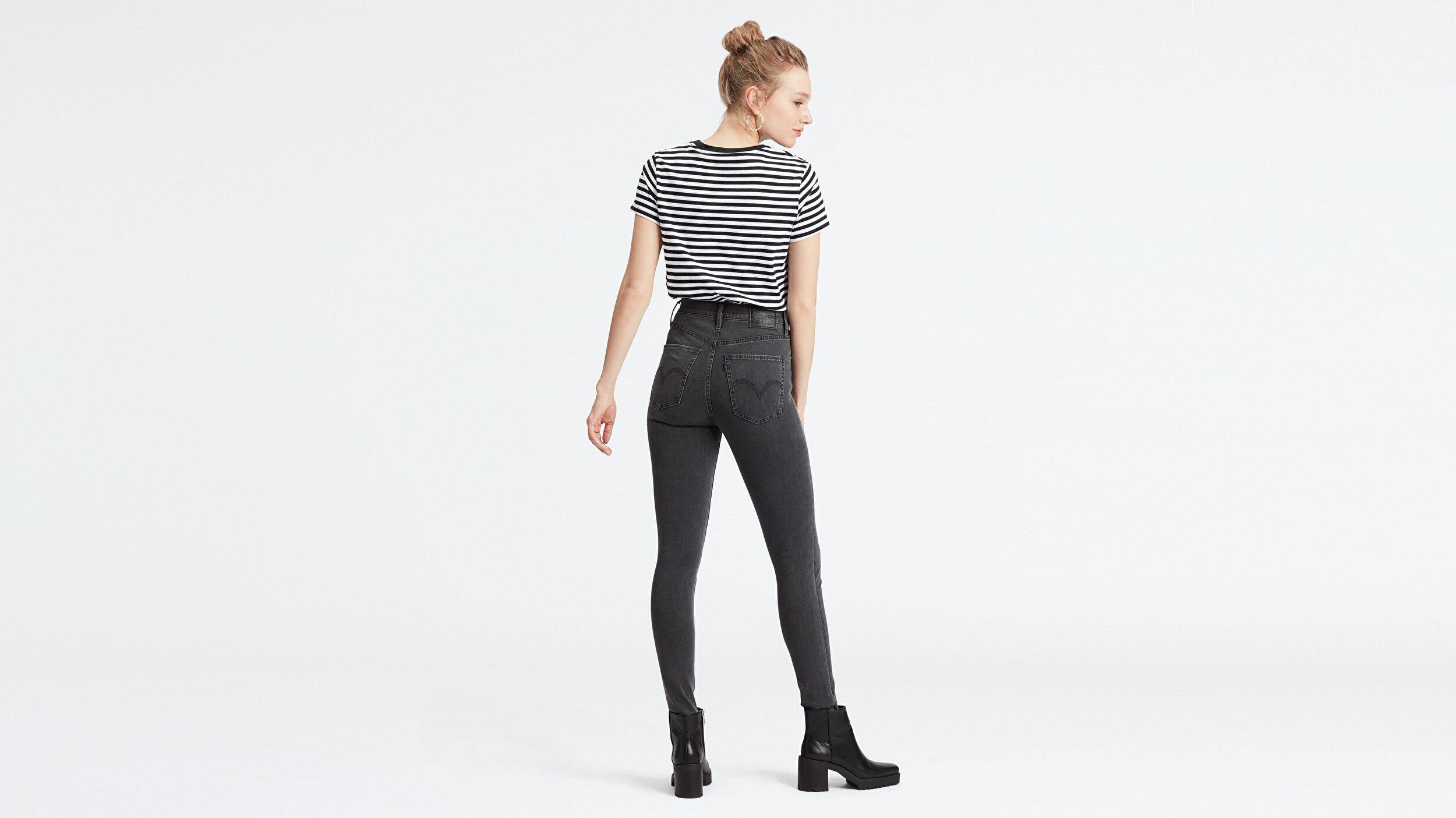 Mile High Super Skinny Kadın Jean Pantolon-Smoke Show