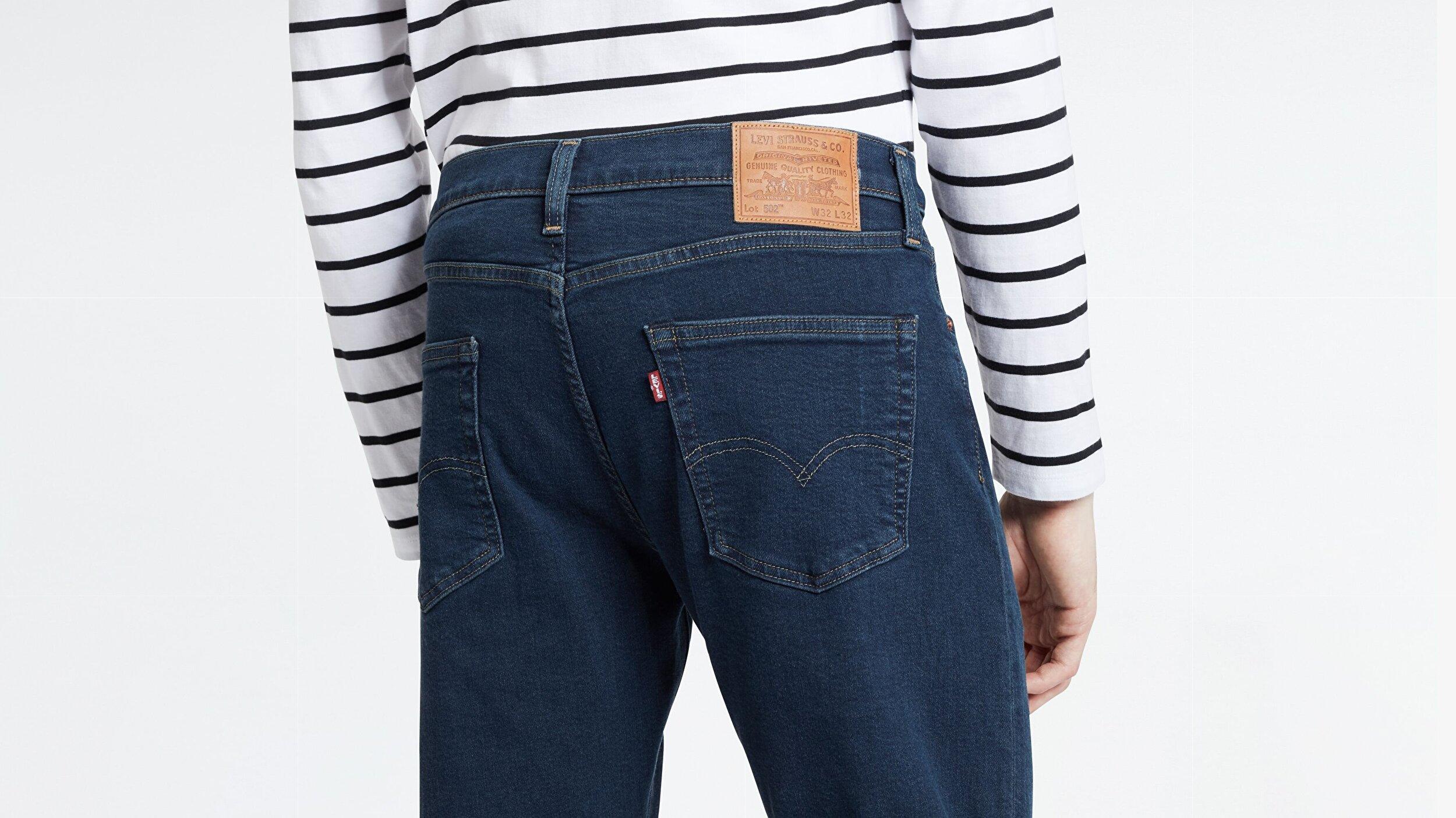 502™ Regular Tapered Erkek Jean Pantolon-Cedar Od Flat Adv Tnl