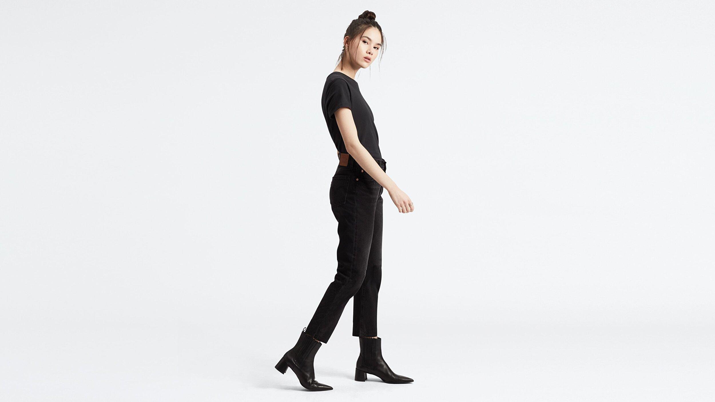 501® Kadın Crop Jean Pantolon- Heart