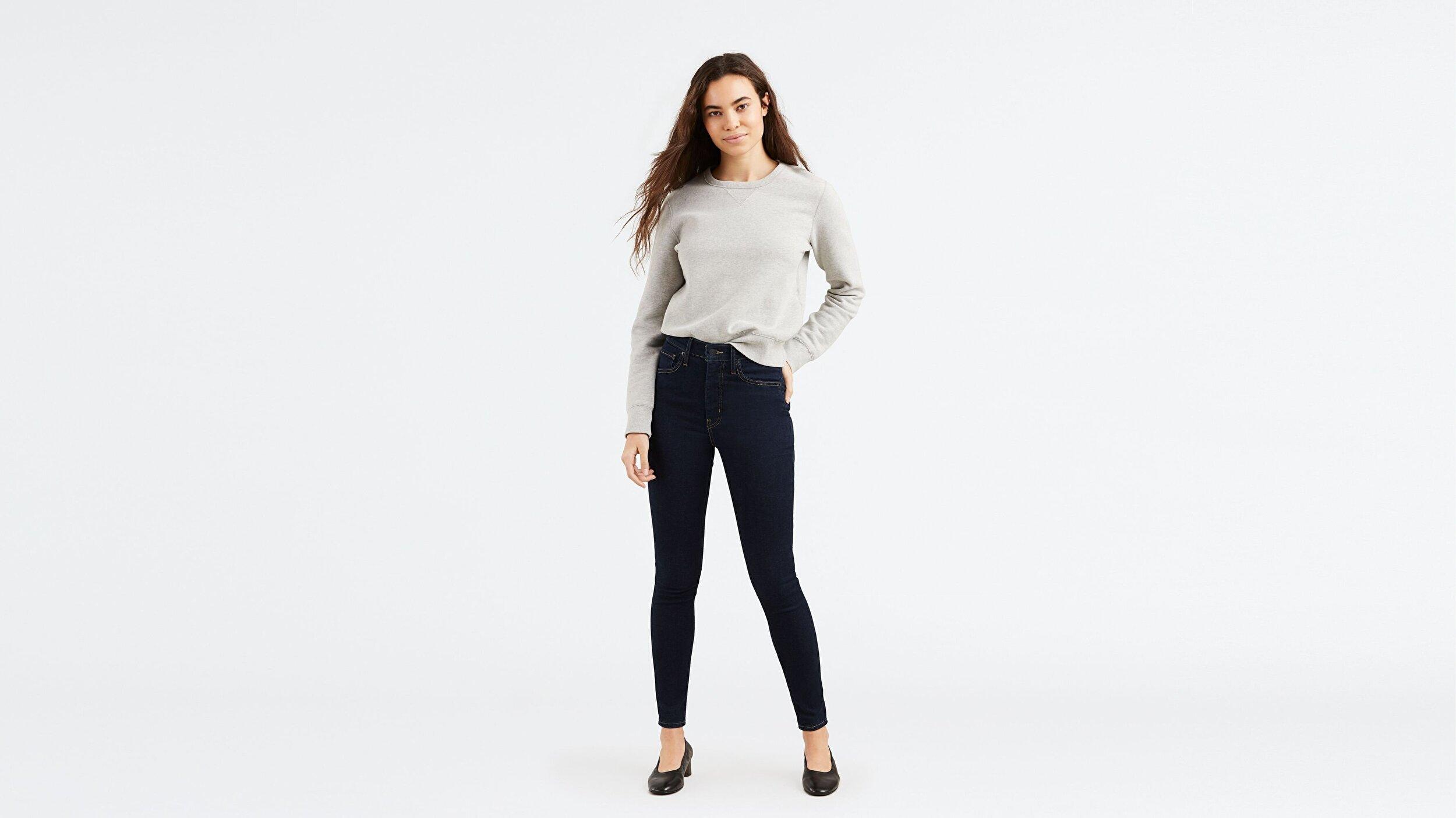 Mile High Super Skinny Kadın Jean Pantolon-Celestial Rinse