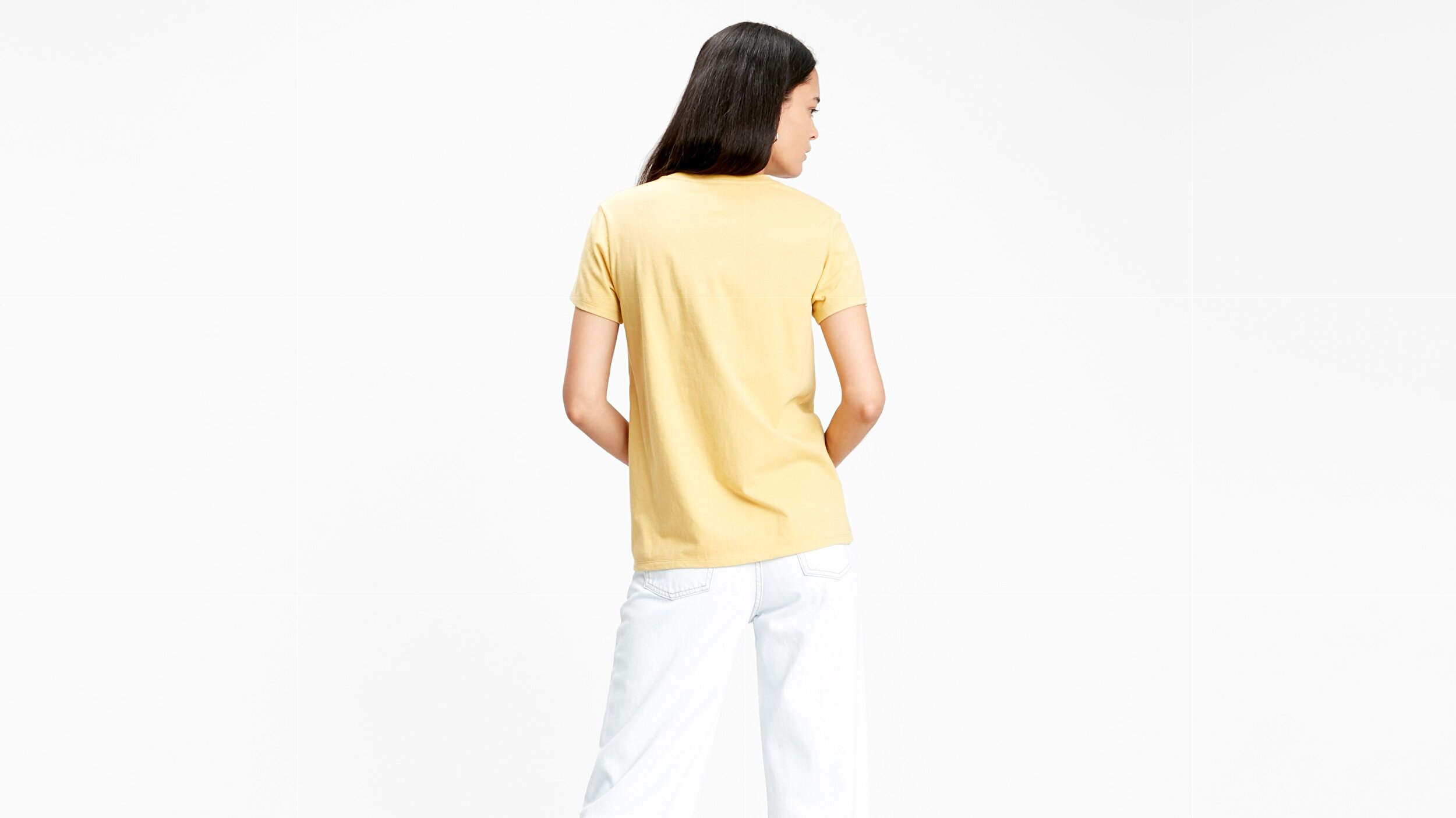 THE PERFECT TEE BW T2 OCHRE GRAPHIC
