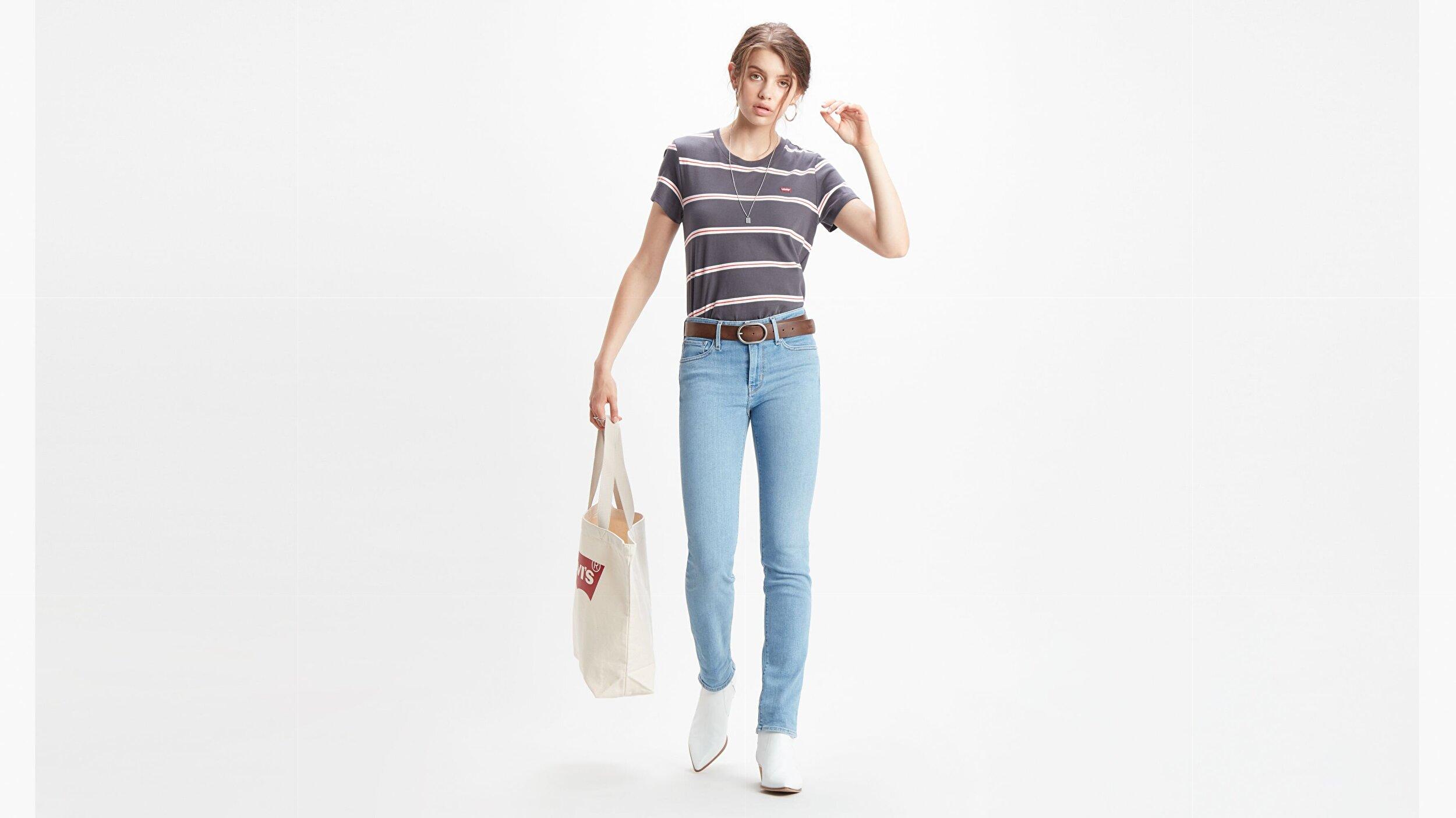 712 Slim Kadın Jean