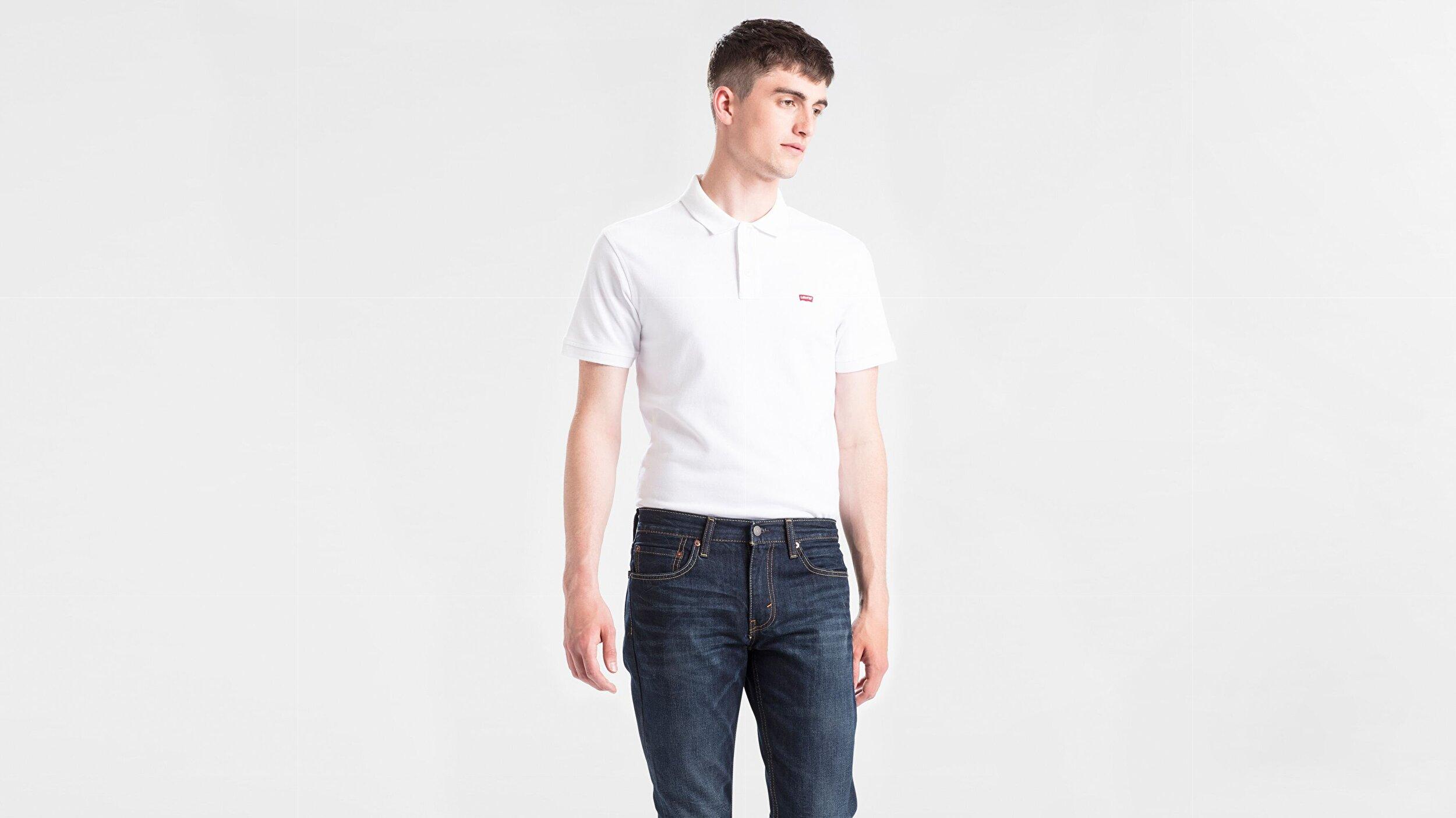 Standard Hm Good Polo  Beyaz Erkek Tişört