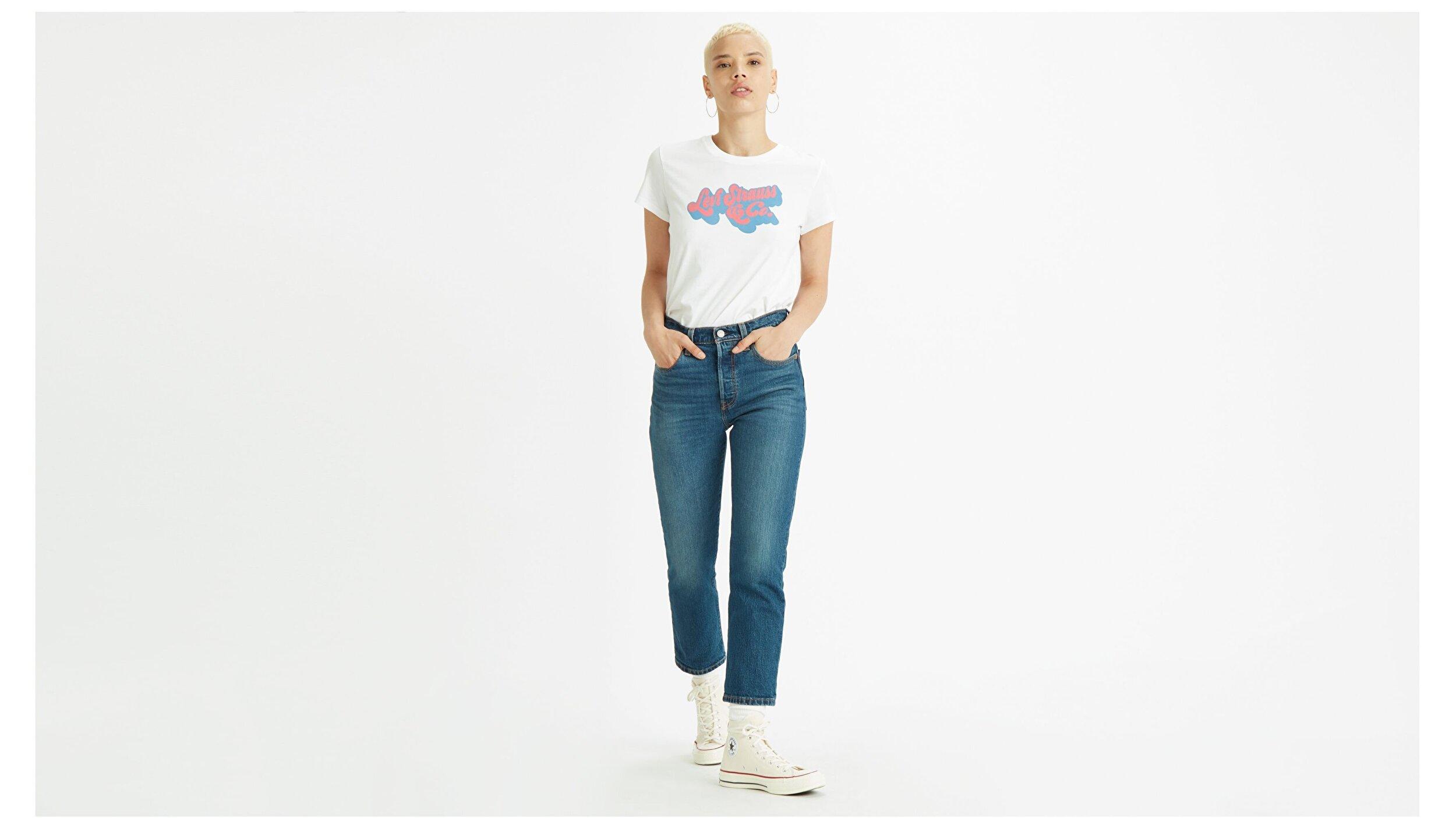 501® Original Cropped Kadın Jean