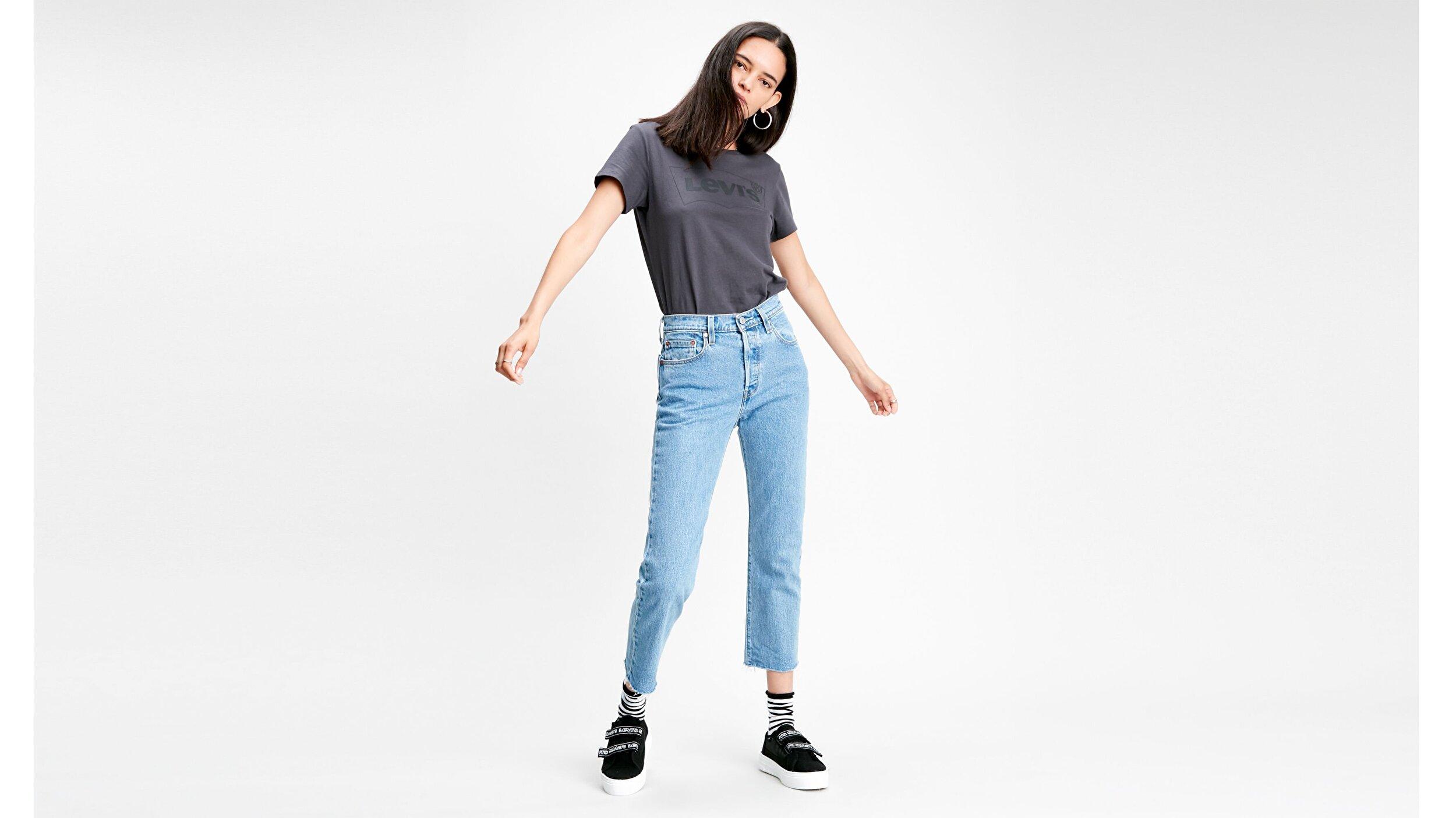 501® Kadın Crop Jean Pantolon-Tango Beats