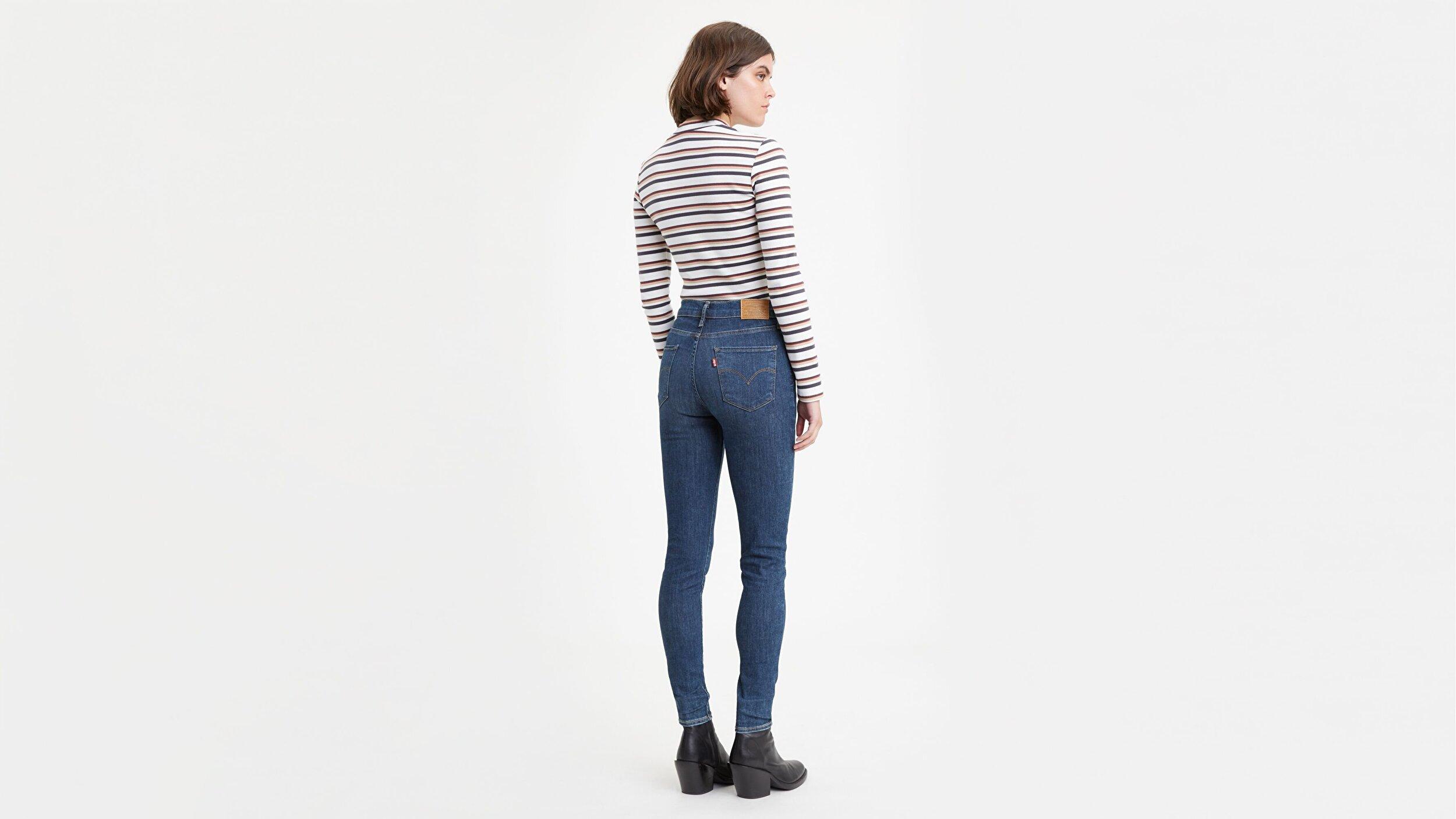 720 Yüksek Bel Süper Skinny Kadın Jean Pantolon-Echo Storm