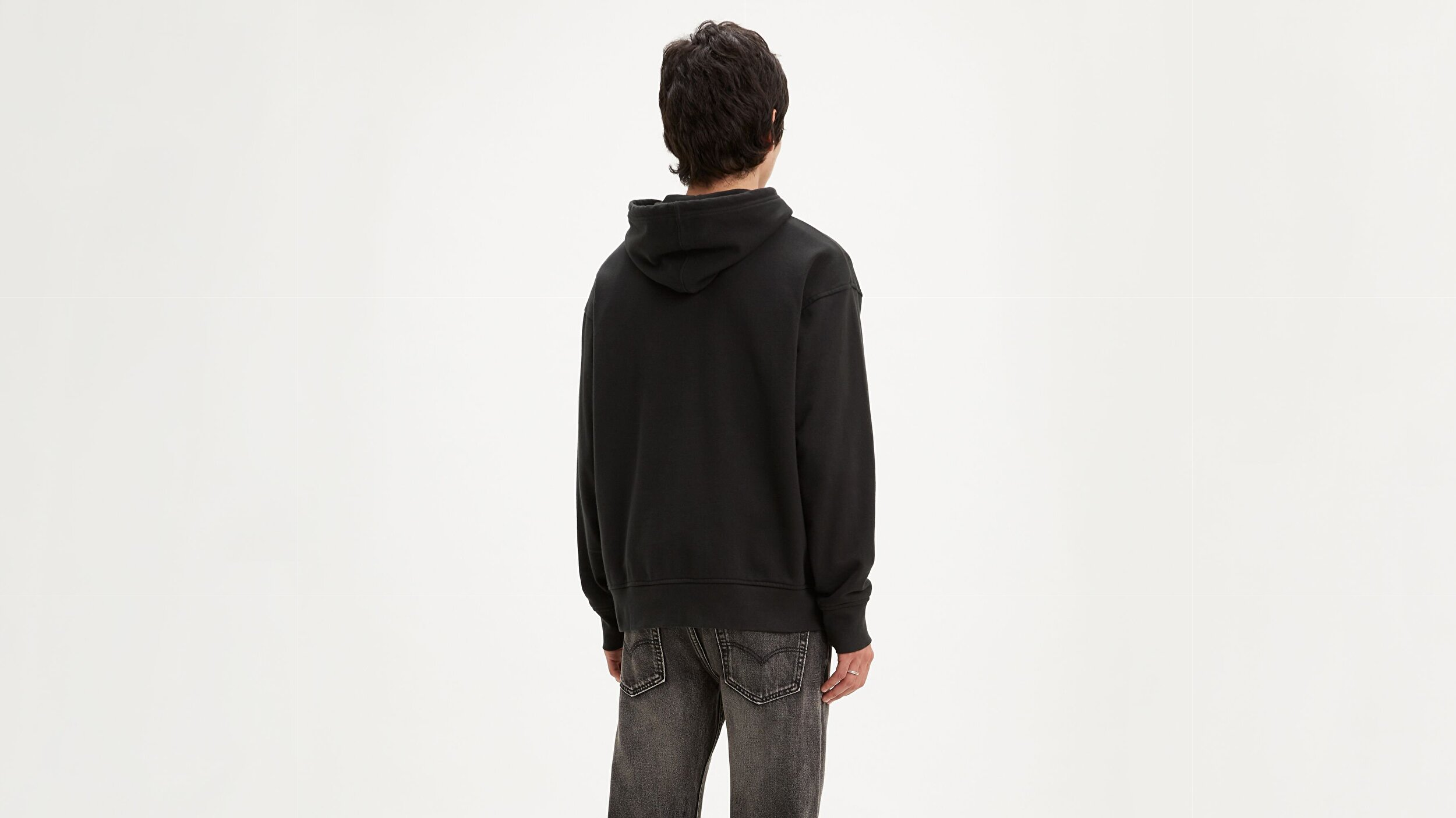 RELAXED GRAPHIC HOODIE BOXTAB PO MINERA