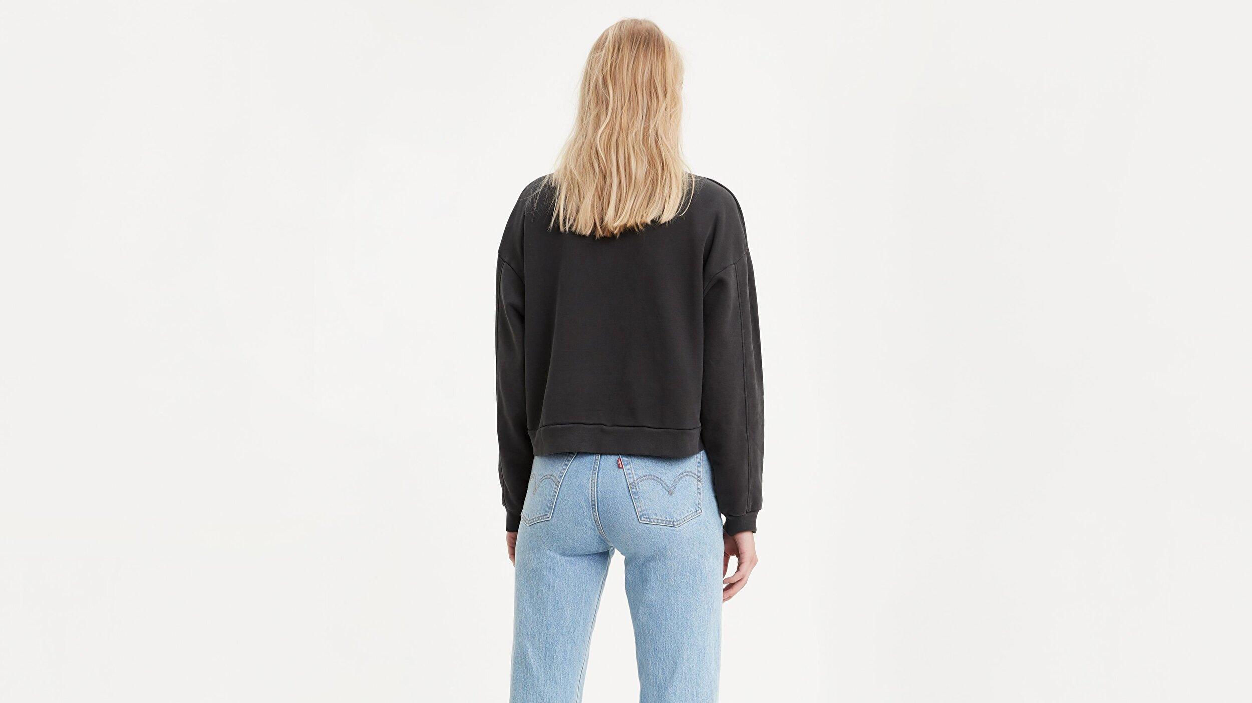 Diana Crew Ultra Soft Siyah Kadın Tişört