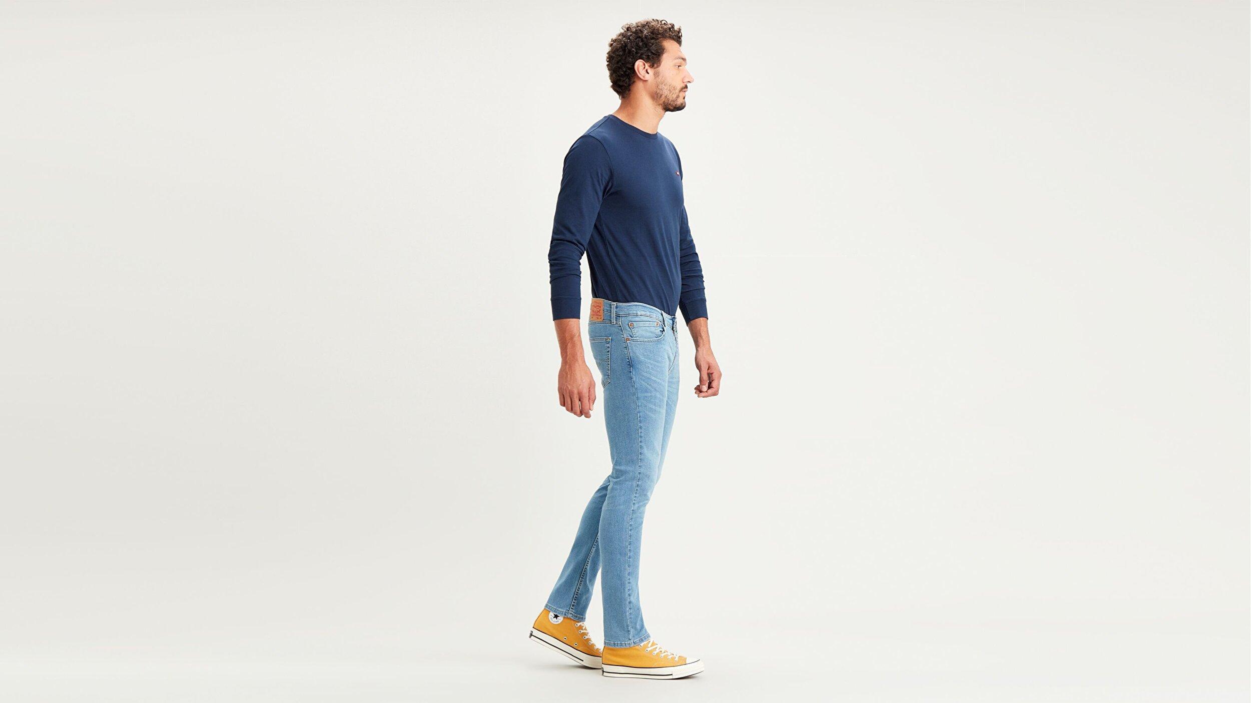 511™ Slim Fit Erkek Jean Pantolon-Mango Overt Light Cool (Local)