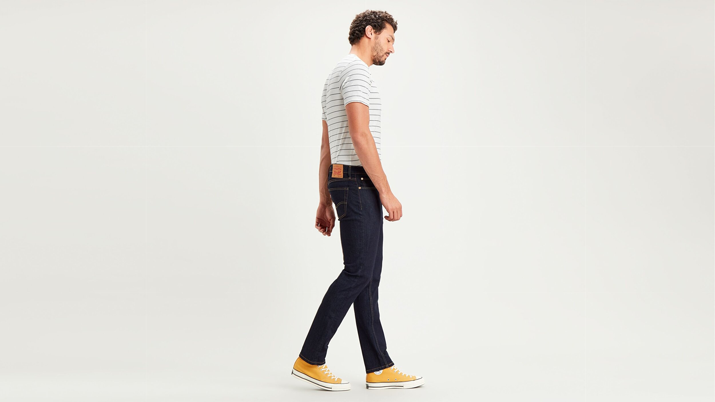 511™ Slim Fit Erkek Jean Pantolon-Dark Hollow Local