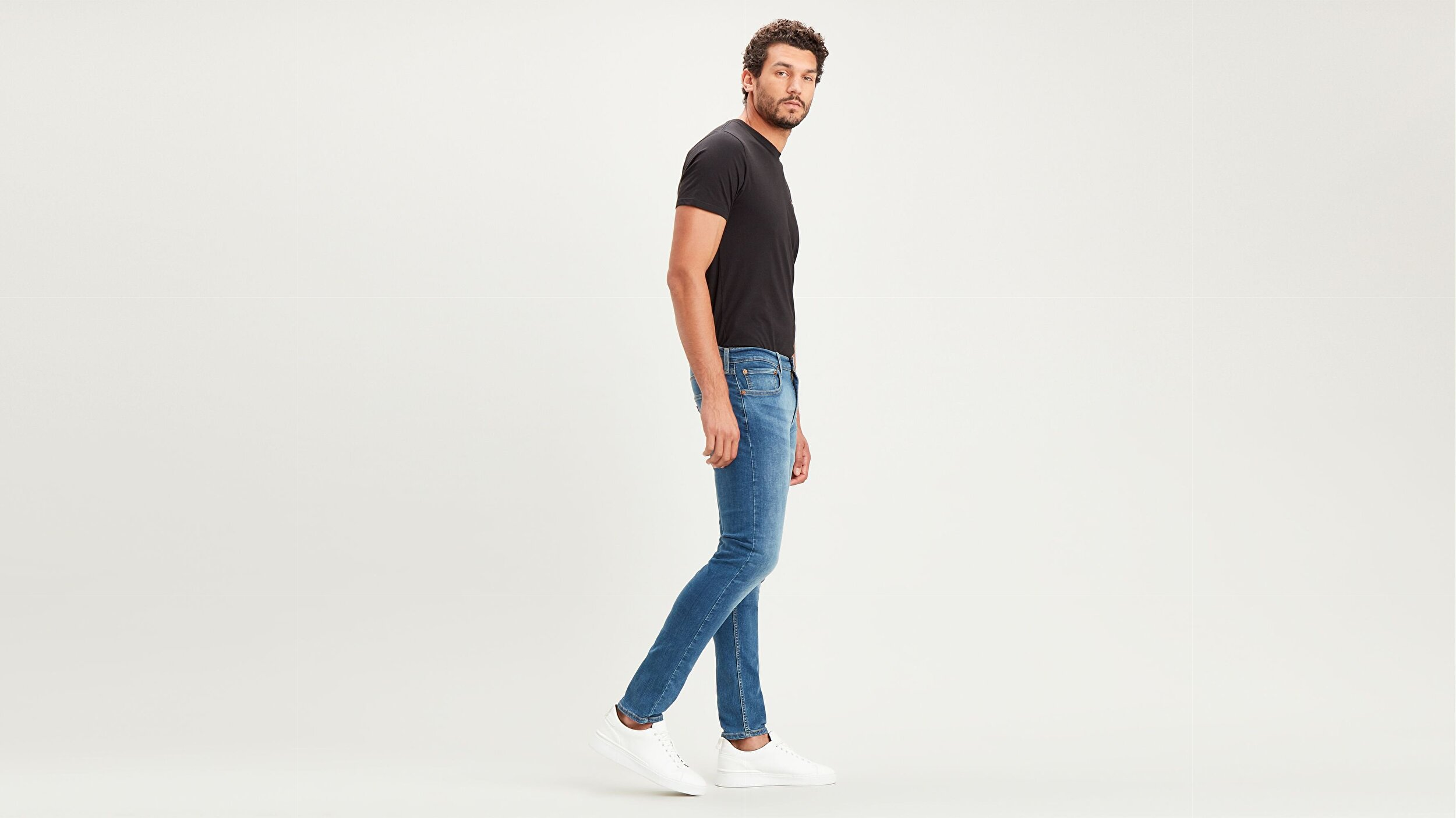 512™ Slim Taper Erkek Jean Pantolon-Kiwi Overt Mid Cool (Local)
