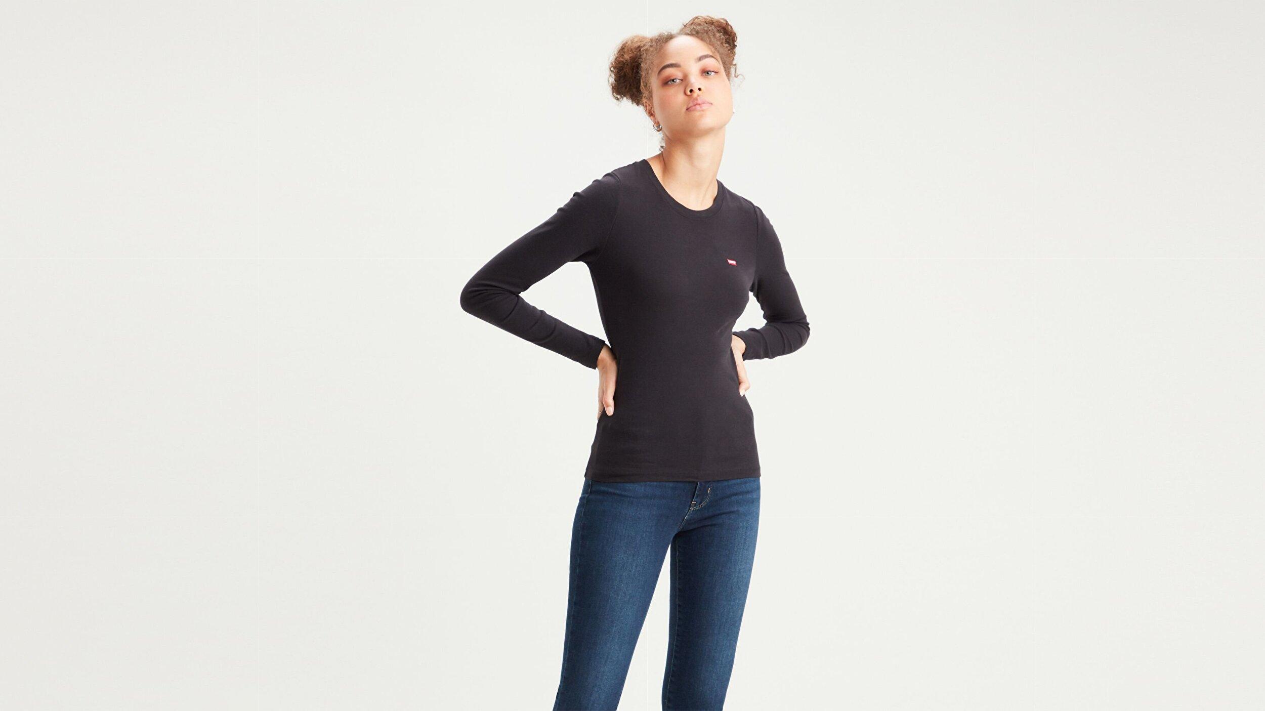 Baby Kadın Uzun Kollu Tişört