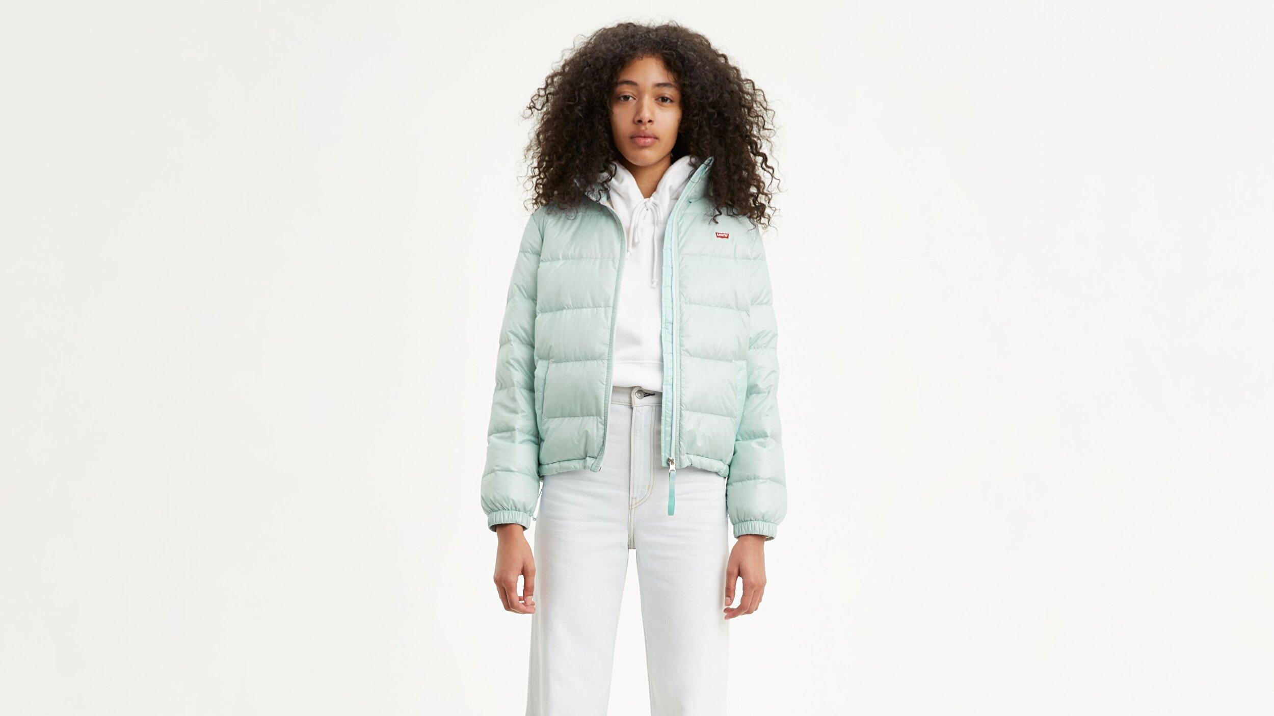 Francine Down Pckble Jkt  Mavi Kadın Puffer Ceket