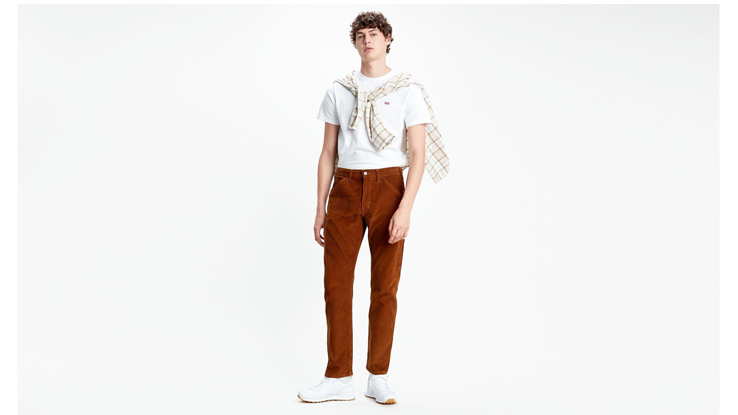 502 Erkek Pantolon-Monks Robe 8W Corduroy