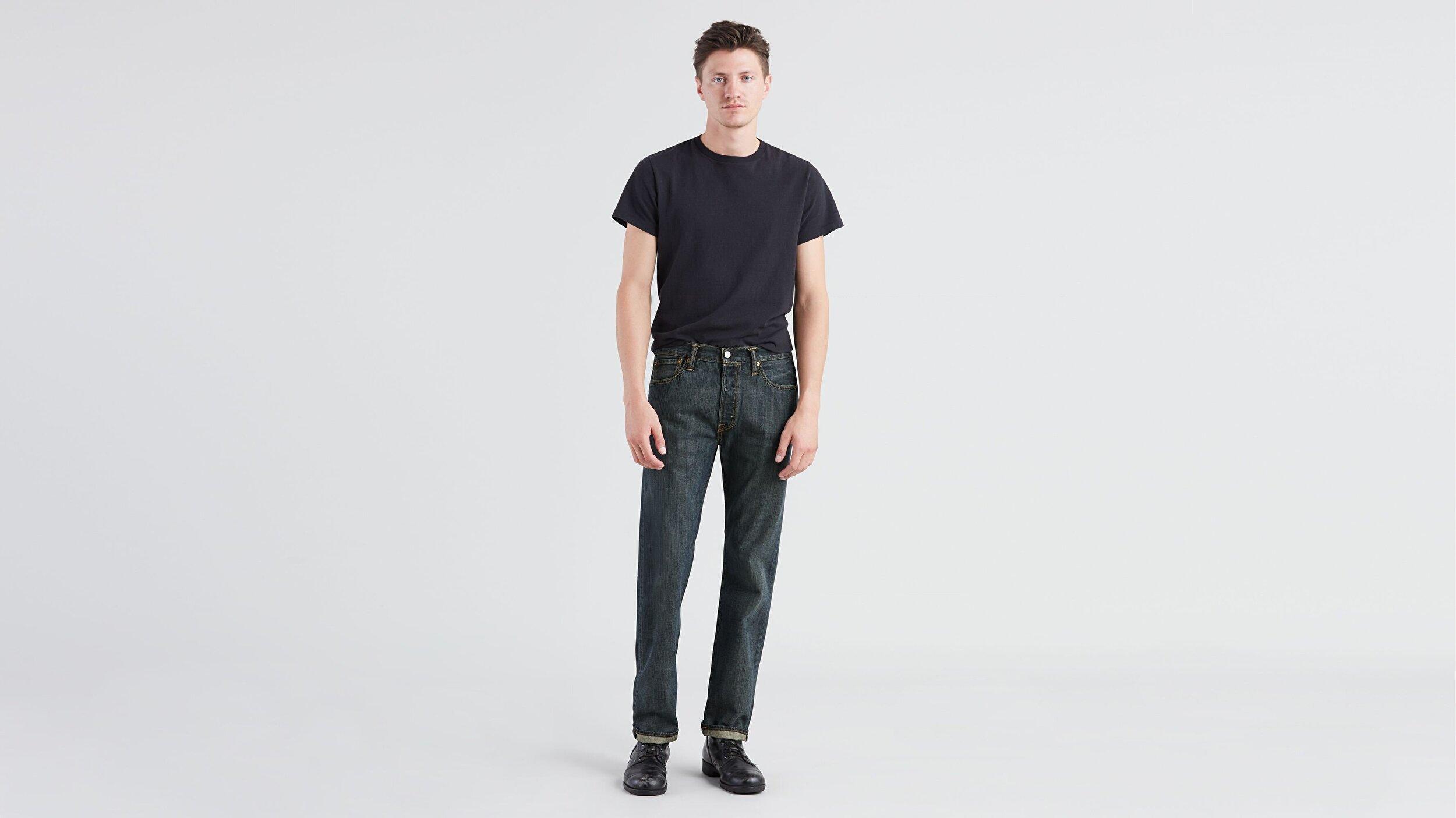 501® Original Fit Erkek Jean Pantolon-Dark Clean