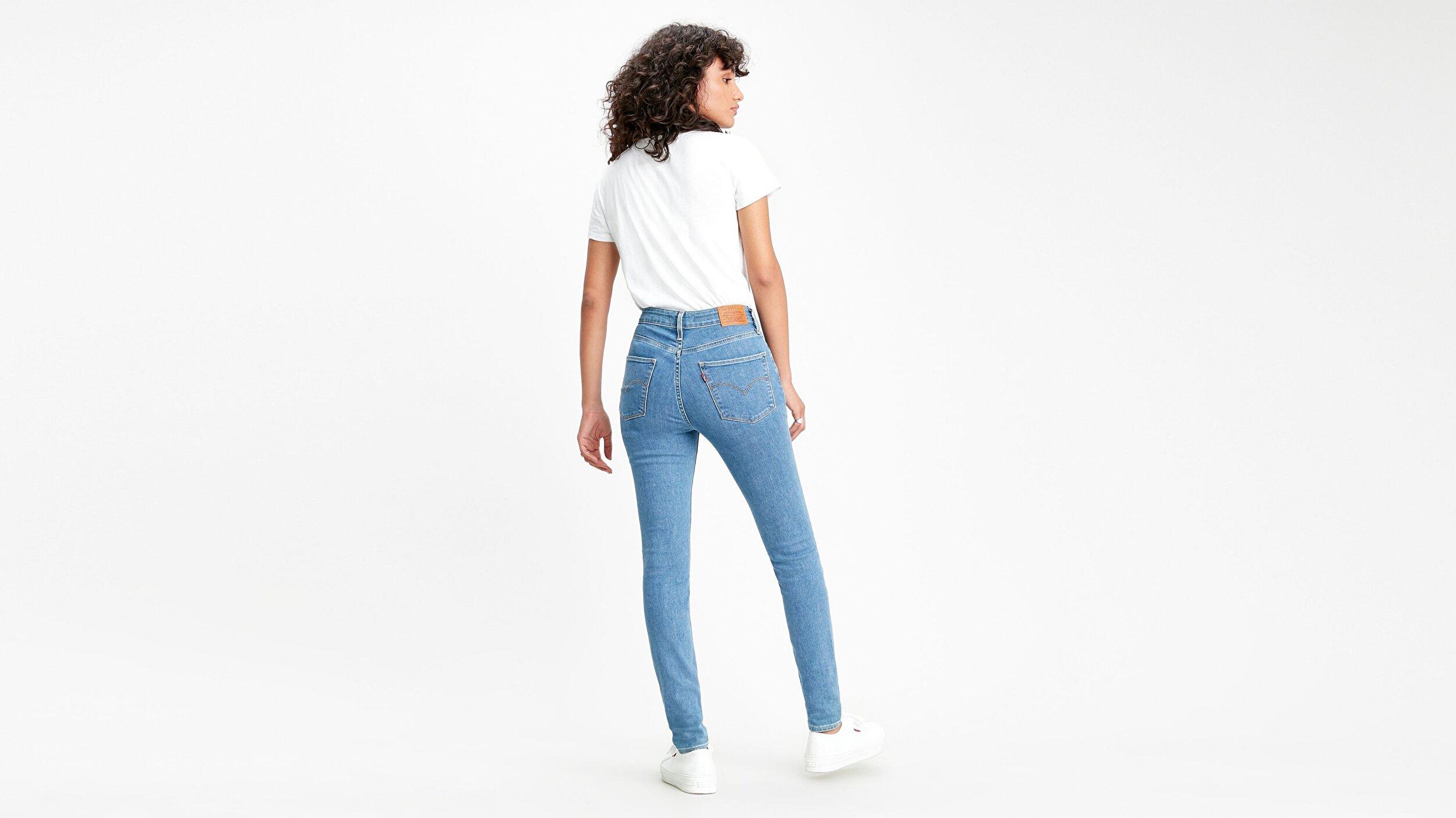 721 Yüksel Bel Skinny Fit Kadın Jean Pantolon-Los Angeles Rocks