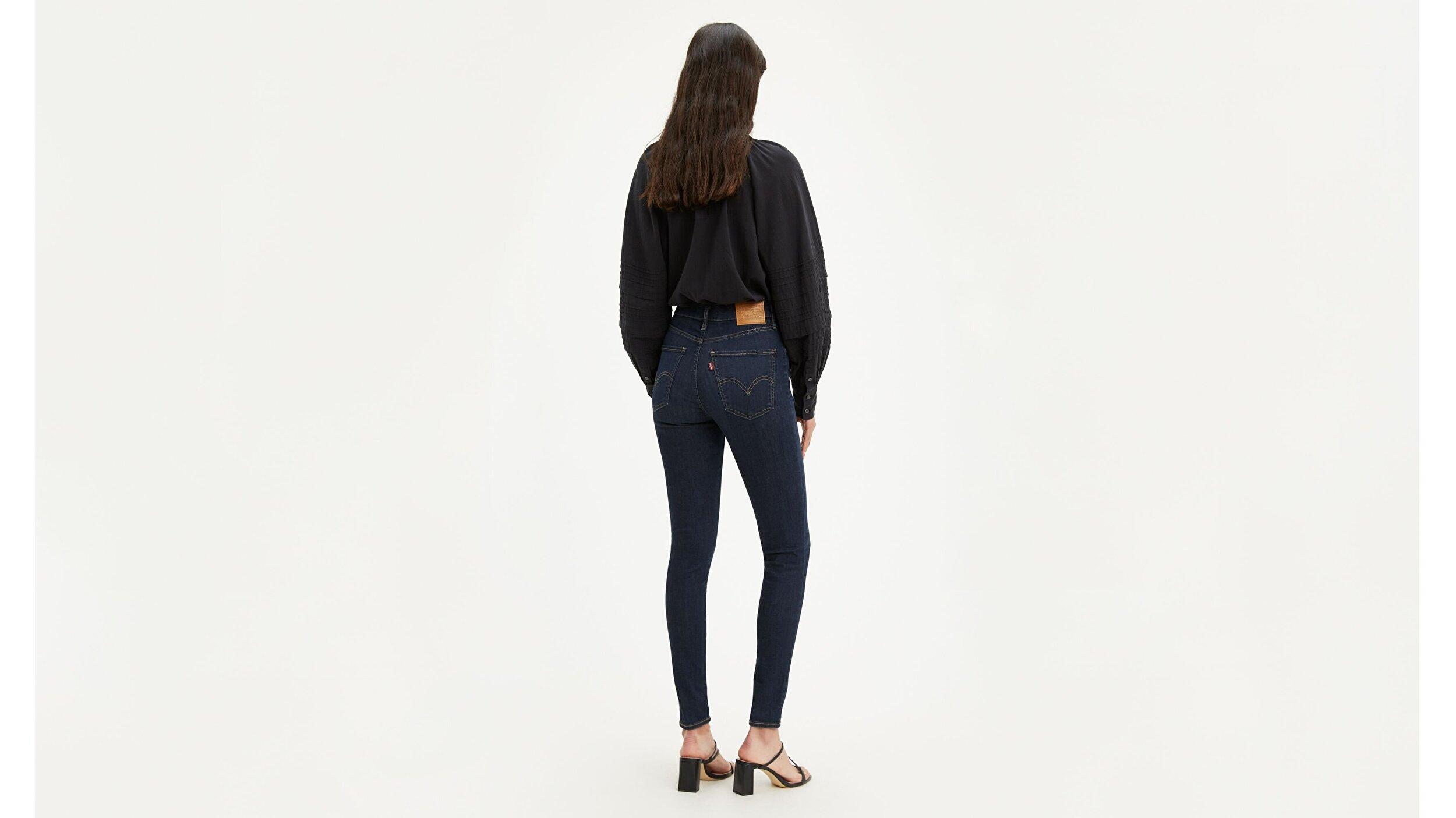 Mile High Super Skinny Kadın Jean Pantolon-Echo Darkness