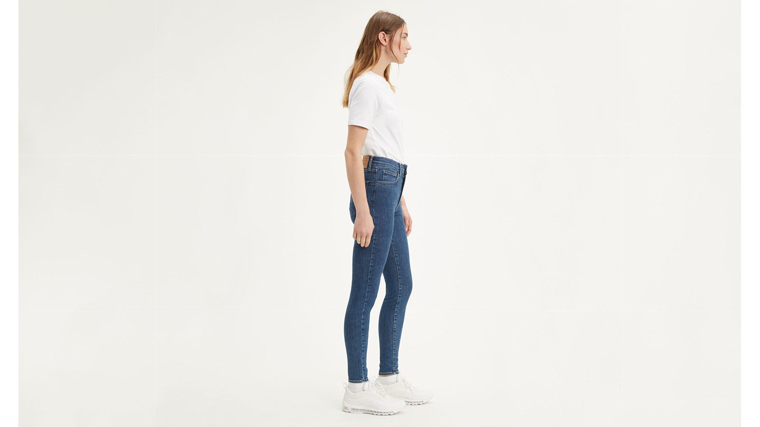Mile High Super Skinny Kadın Jean Pantolon-Tempo So Stoned
