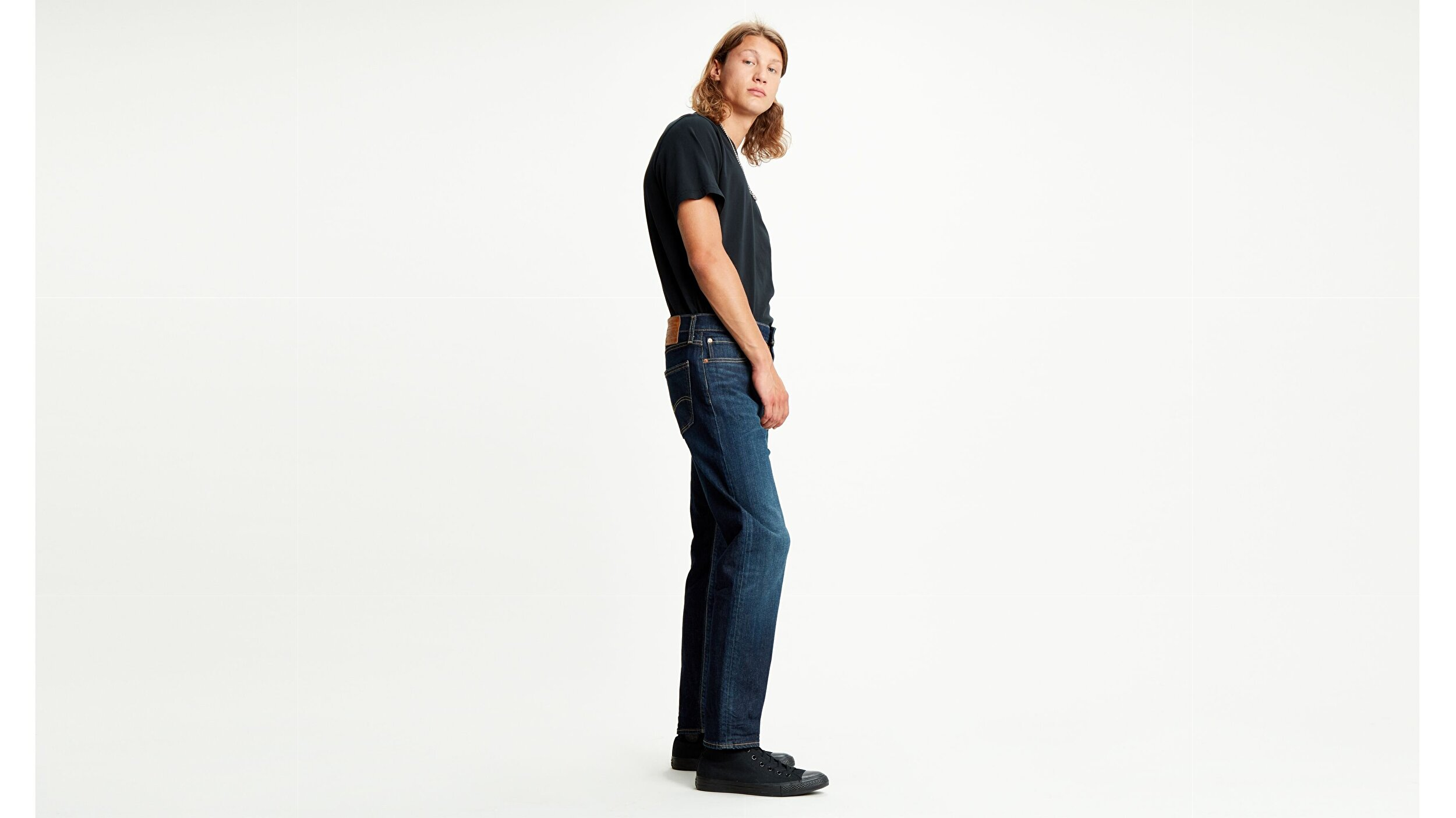 502™ Regular Tapered Erkek Jean Pantolon-Biologia Adv