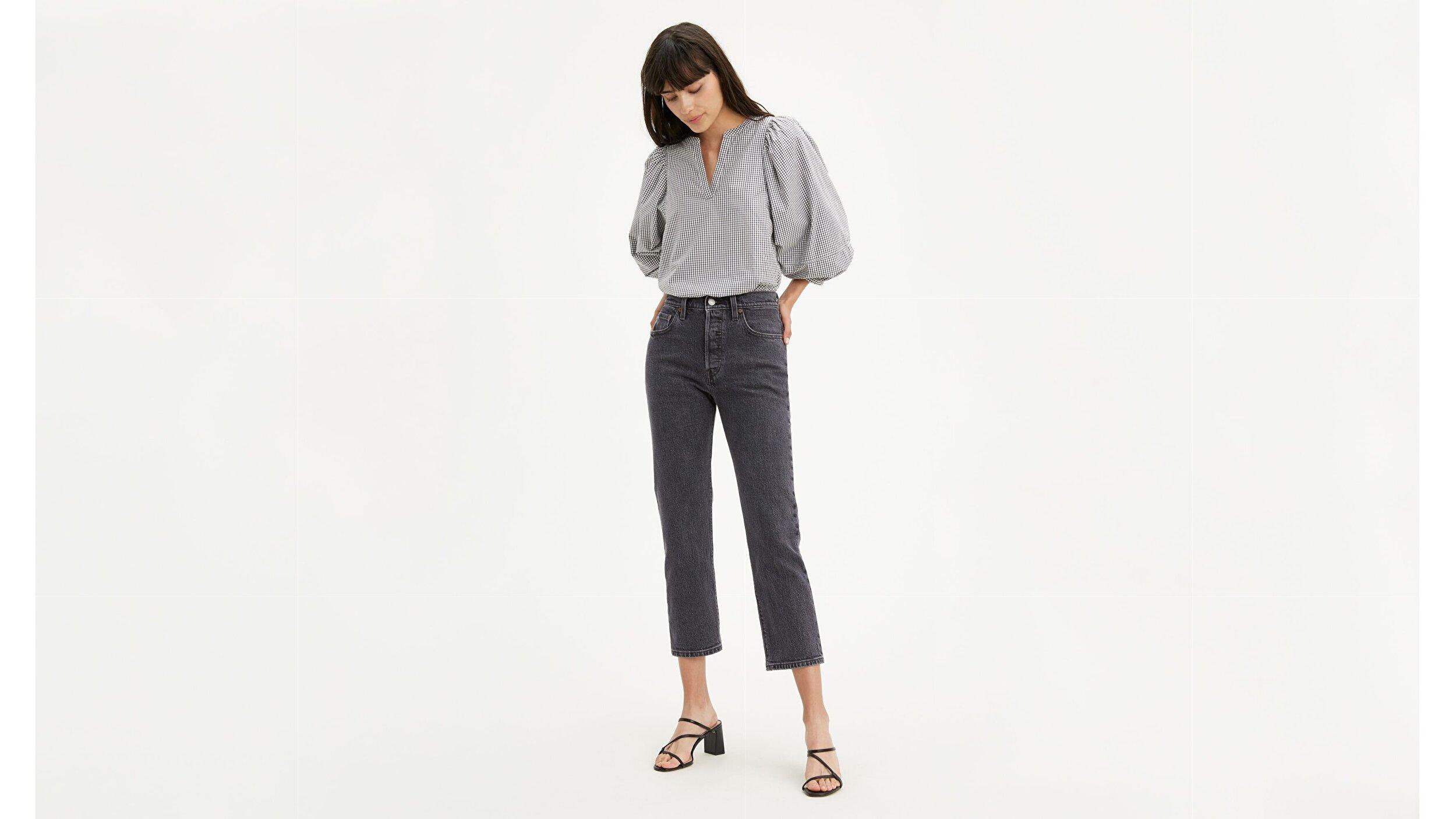 501® Kadın Crop Jean Pantolon-Cabo Fade