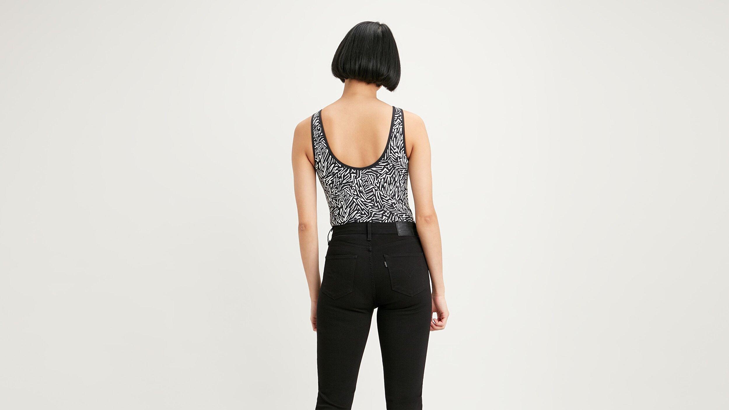 Graphic Bodysuit Fun Zebra Siyah Kadın Bodysuit