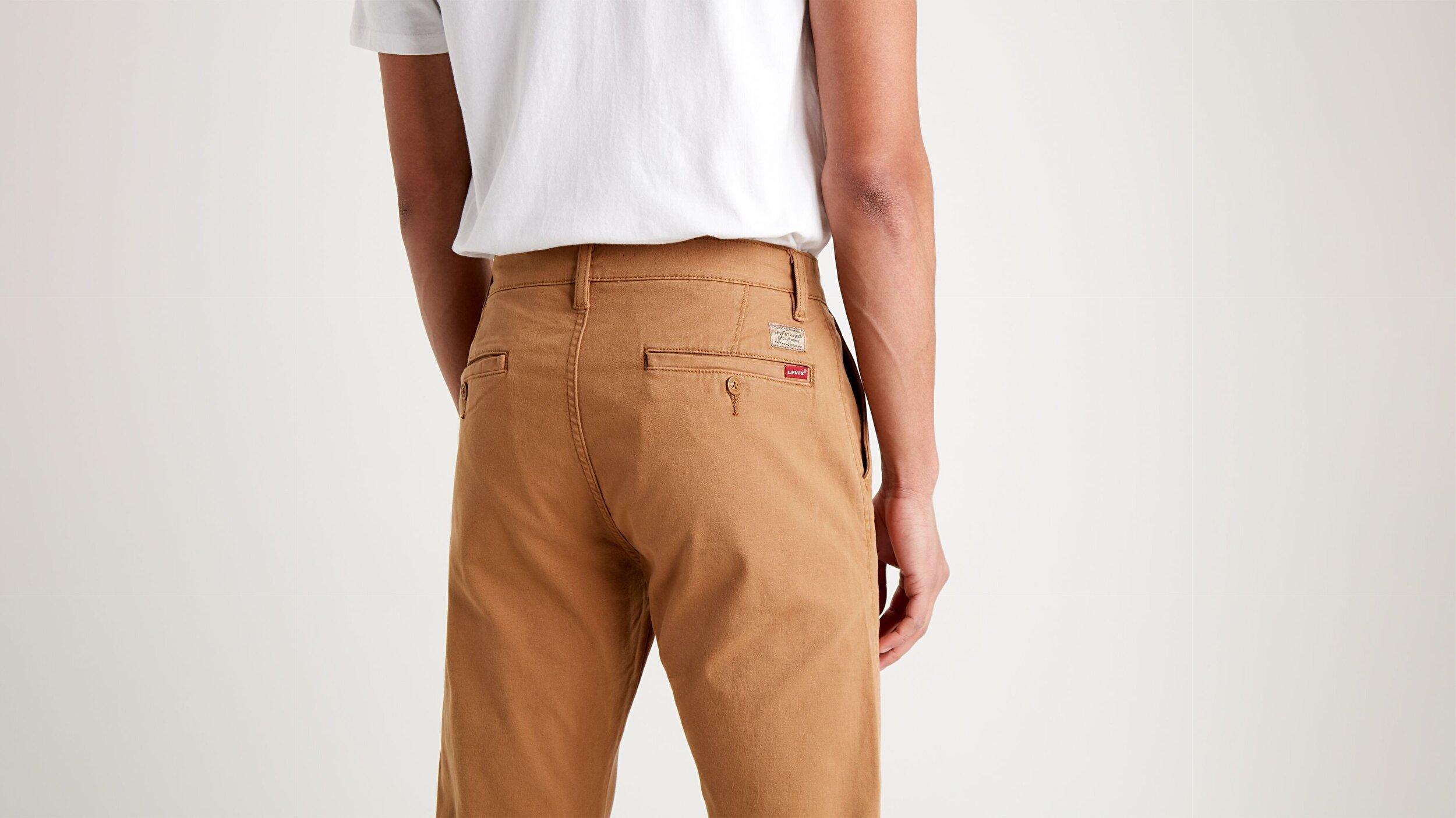 XX Chino Düz Kesim Erkek Pantolon-Desert Boots Shady Gd Ccu B