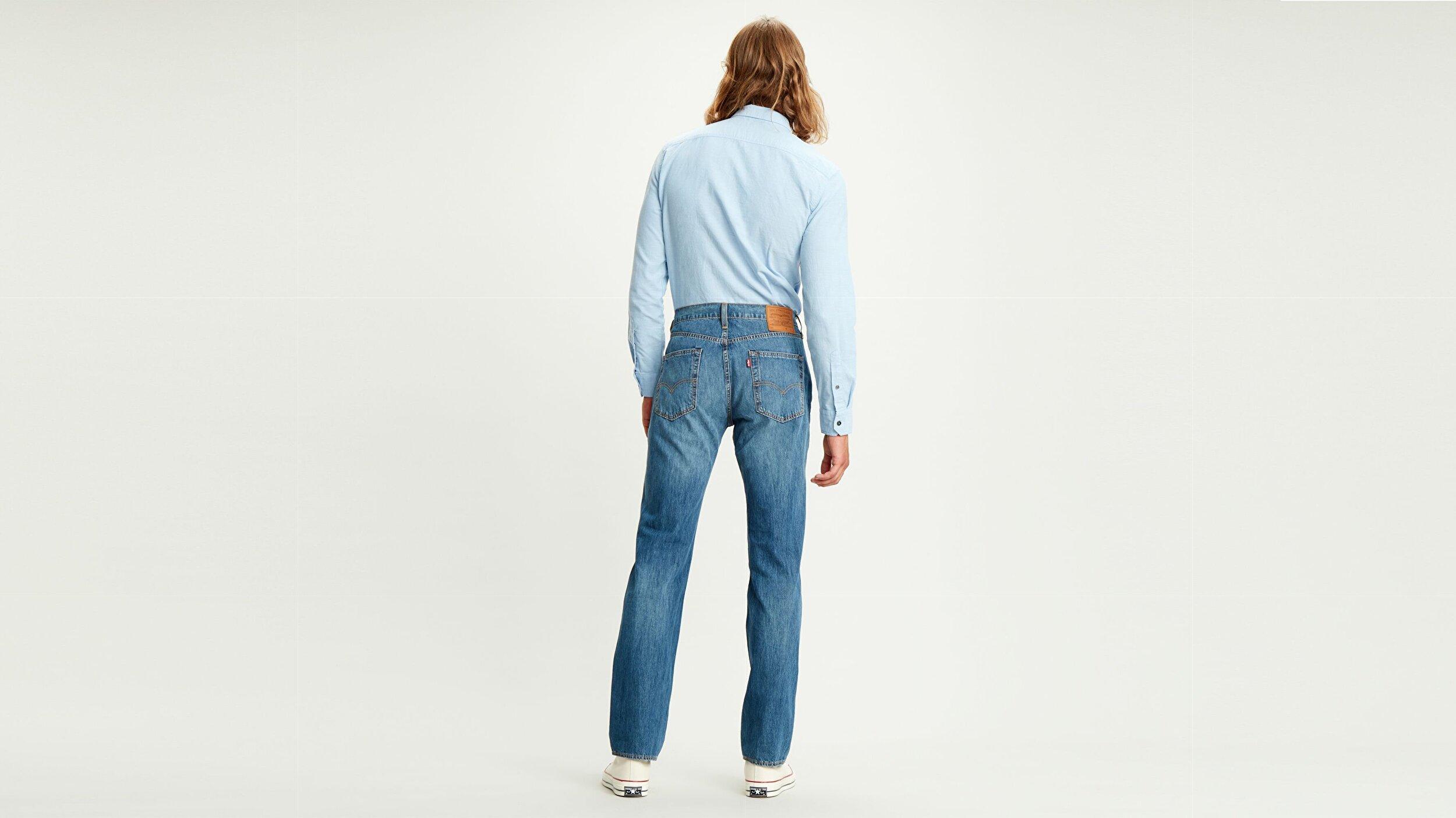 514™ Straight Fit Erkek Jean Pantolon-Matcha  Cool