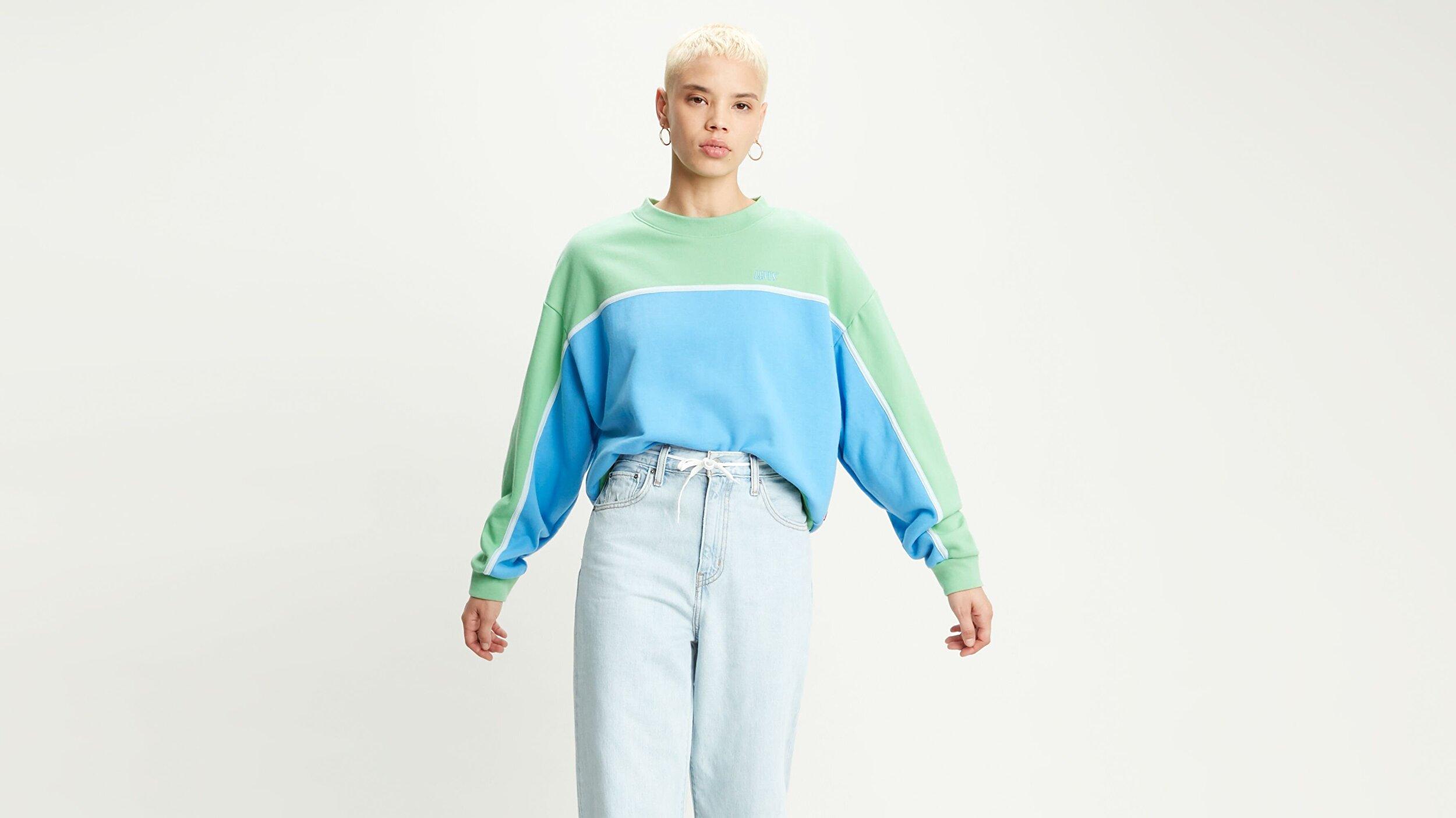 Celeste Sweatshirt Celeste Sweatshirt Mavi Kadın Sweatshirt
