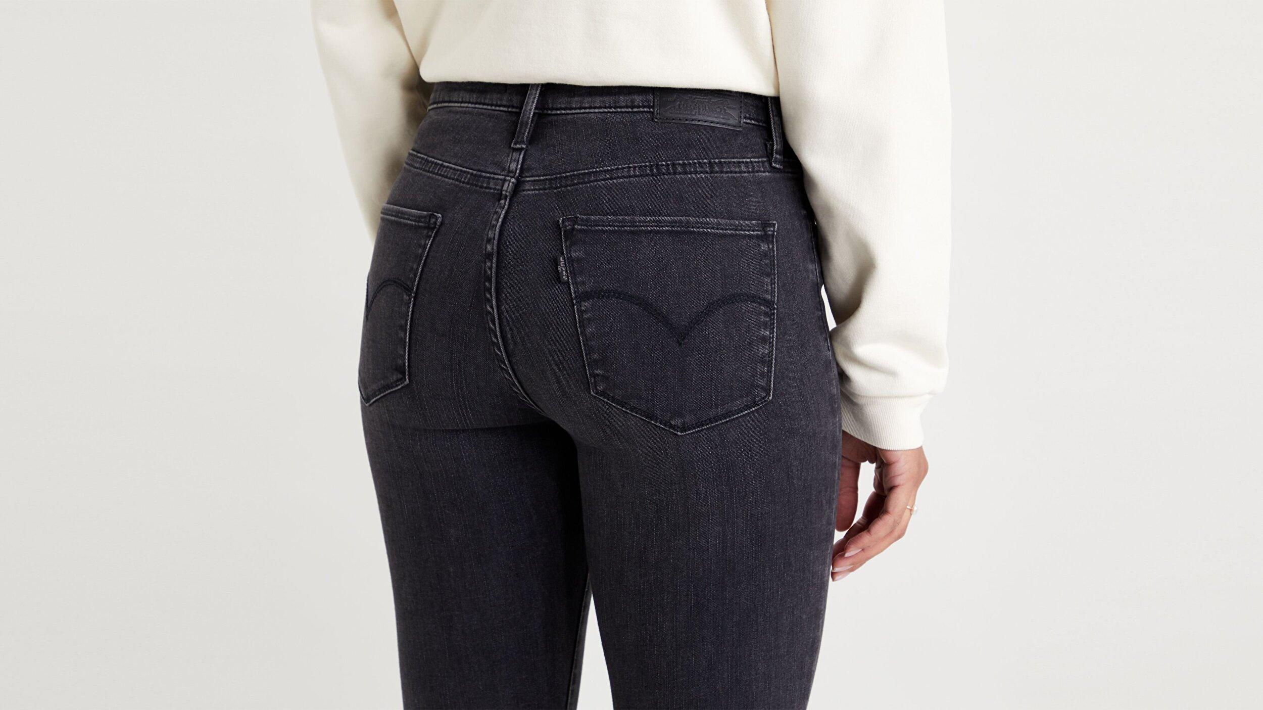 720 Yüksek Bel Süper Skinny Kadın Jean Pantolon-Smoked Out