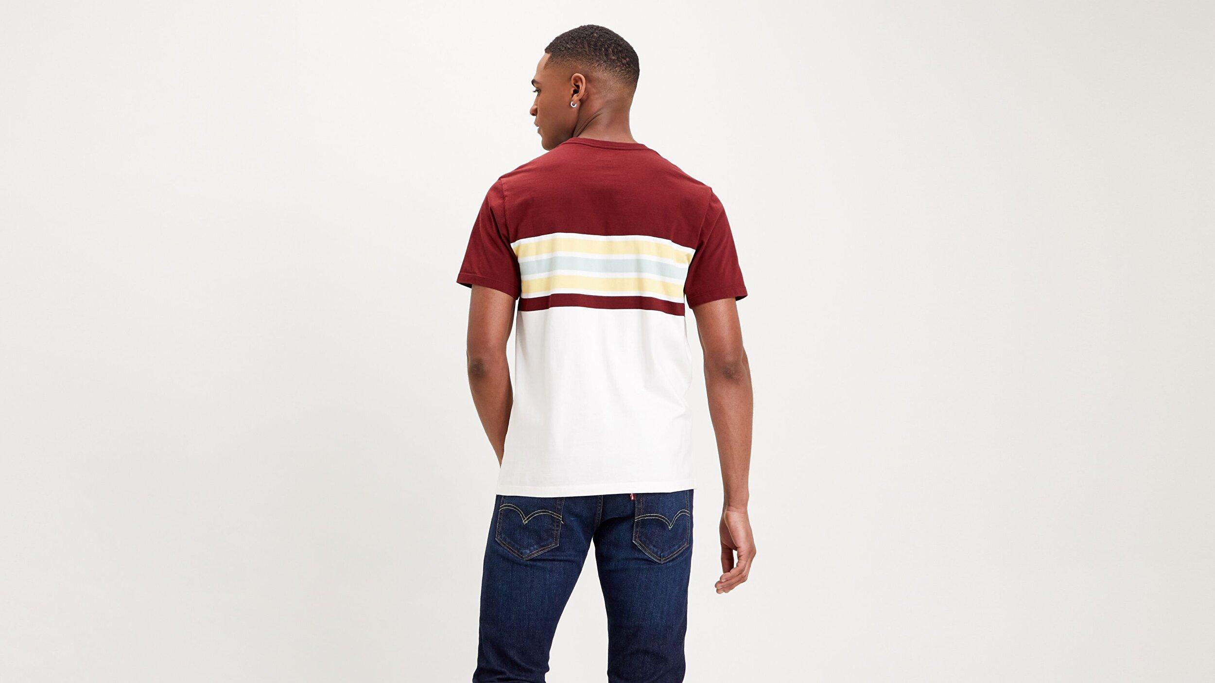 Ss Original Hm Tee Pop Stripe Çok renkli Erkek Tişört